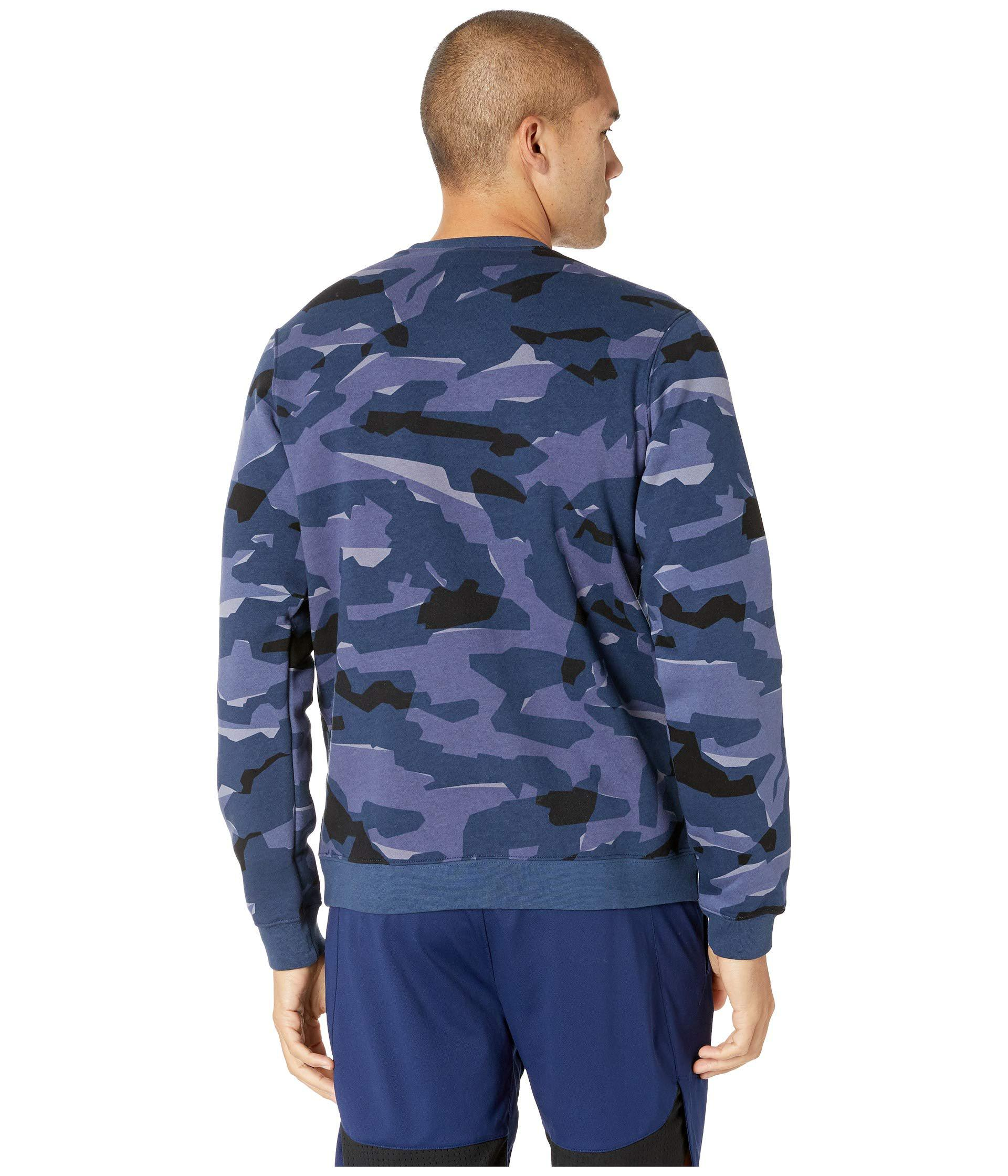 Nsw Club Camo Hoodie Full Zip Bb (midnight Navymidnight Navywhite) Sweatshirt