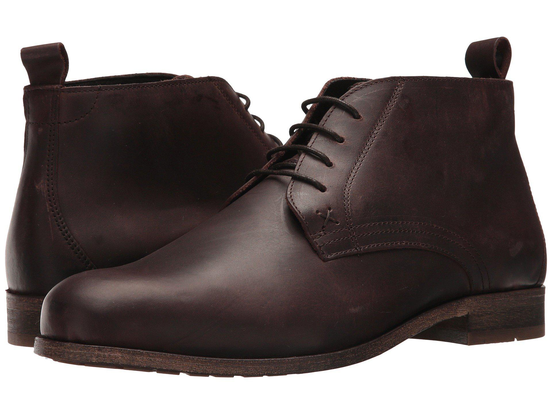 8ea816659bc Brown Deacon Chukka (oxblood Leather) Men's Boots