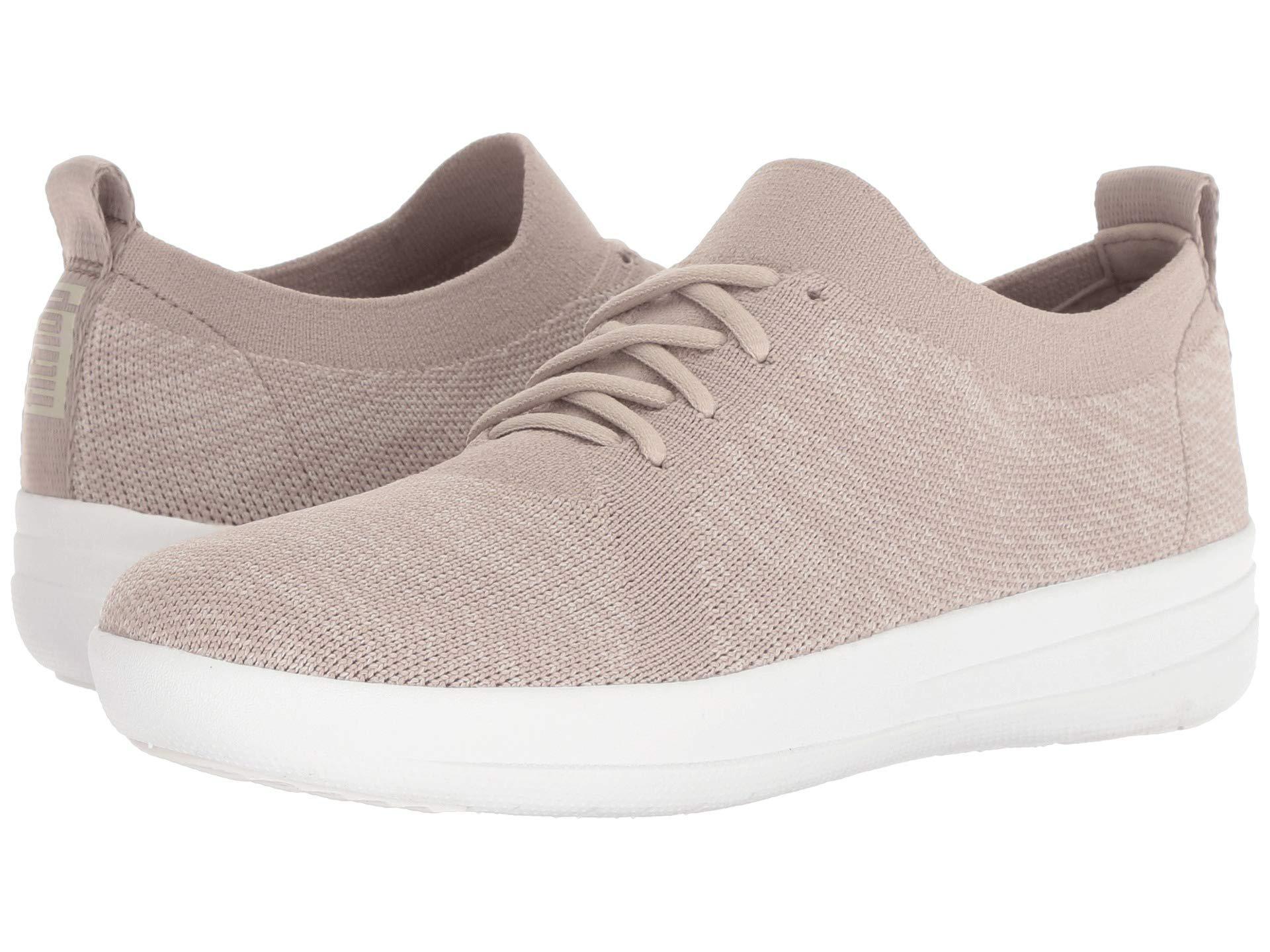 a78050e26577 Lyst - Fitflop F-sporty Uberknit Sneakers (dark Taupe Mix) Women s ...