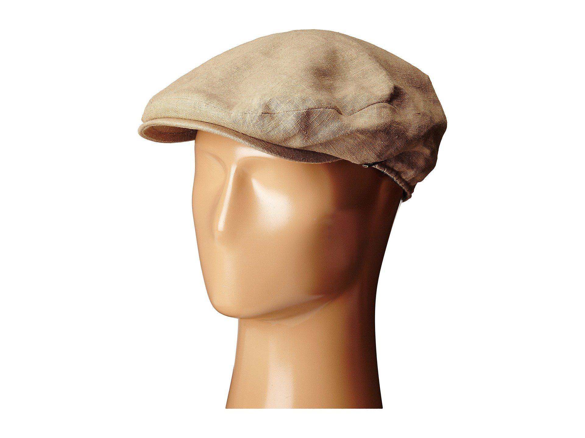 e2555af46 Men's Natural Linen Ivy Cap