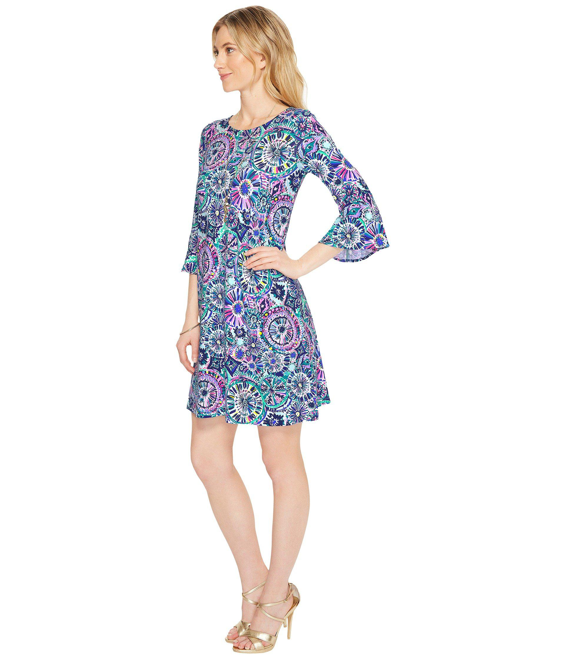 Lyst Lilly Pulitzer Ophelia Dress in Blue