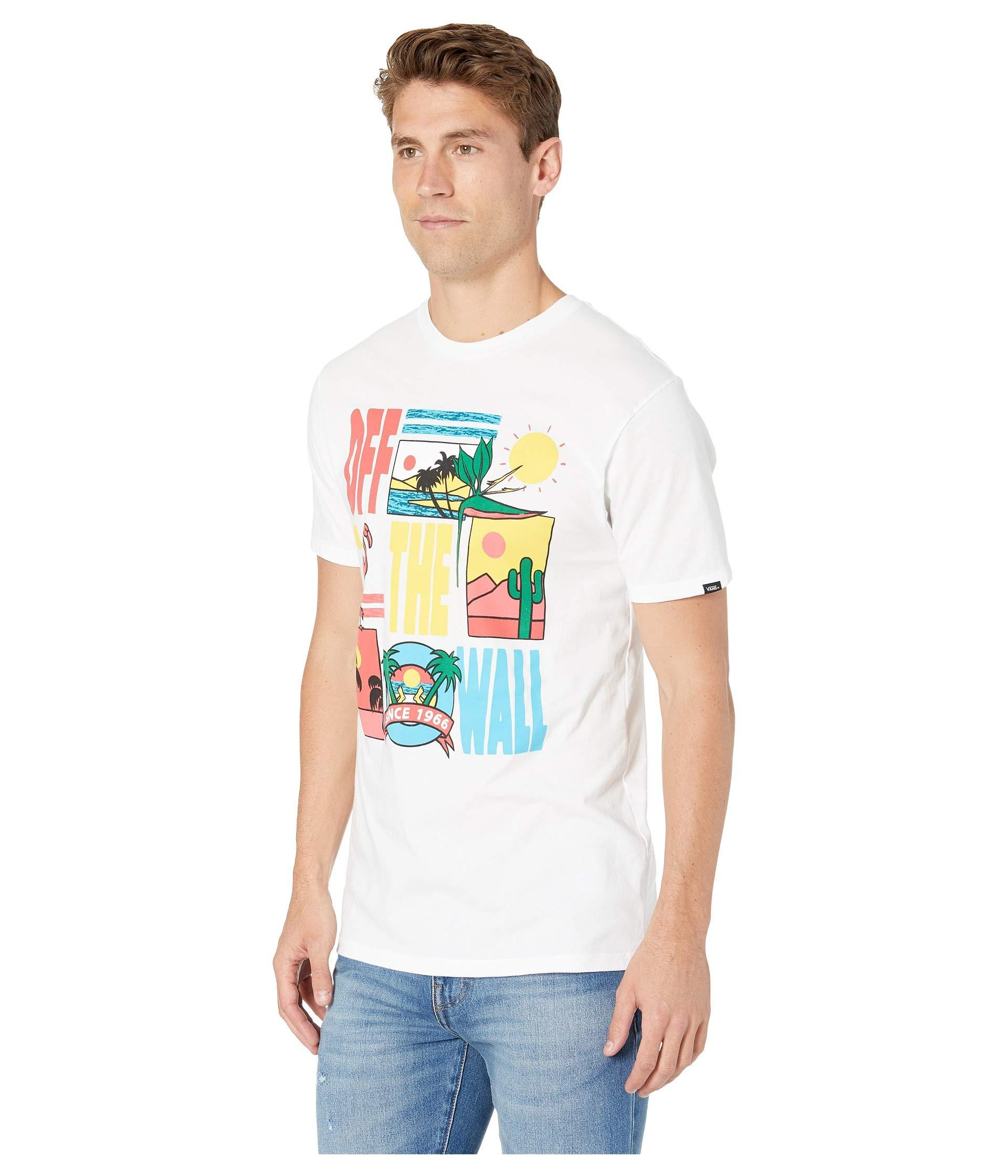 308220db8 Lyst - Vans Tropicool Short Sleeve T-shirt (white) Men's T Shirt in White  for Men