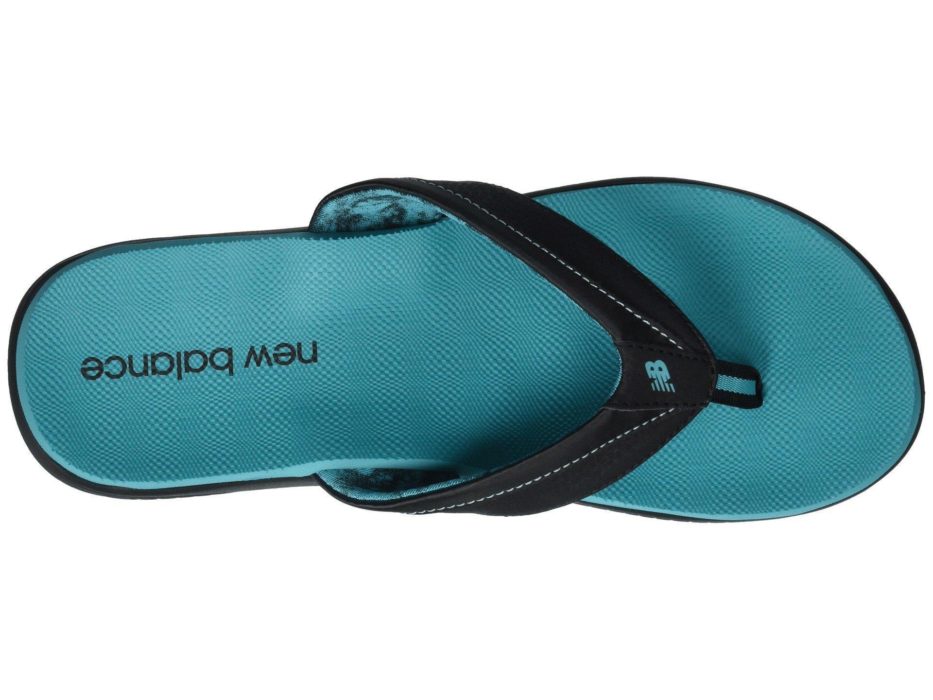 b9f128b96a2 New Balance - Black Jojo Thong (white silver) Women s Sandals - Lyst. View  fullscreen
