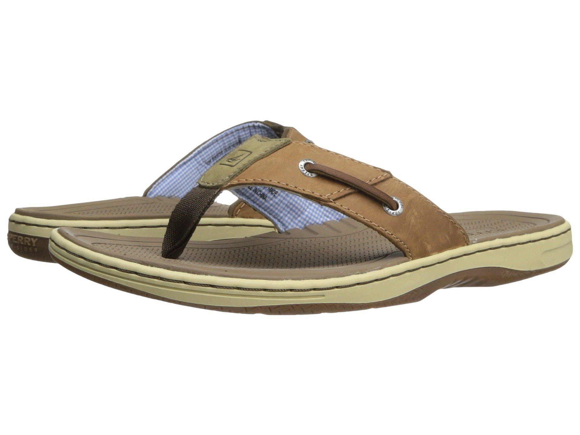 fbf65c9af80 Lyst - Sperry Top-Sider Baitfish Thong (brown) Men s Sandals in ...