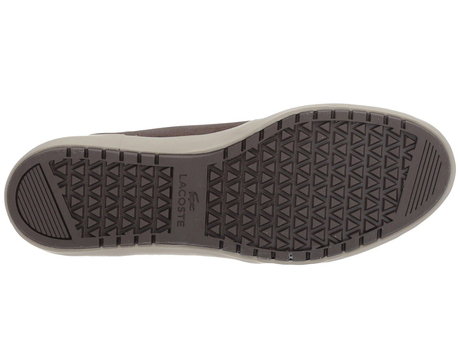 fdb4d8e4b822a Lyst - Lacoste Ampthill Terra 417 1 Cam (dark Brown) Men s Shoes in ...