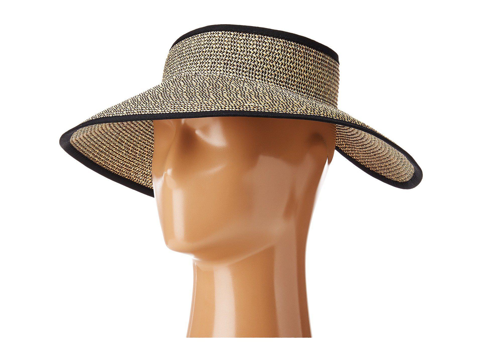 Lyst - San Diego Hat Company Ubv002 Sun Hat Visor (multi Brown ... 8fa99b95536