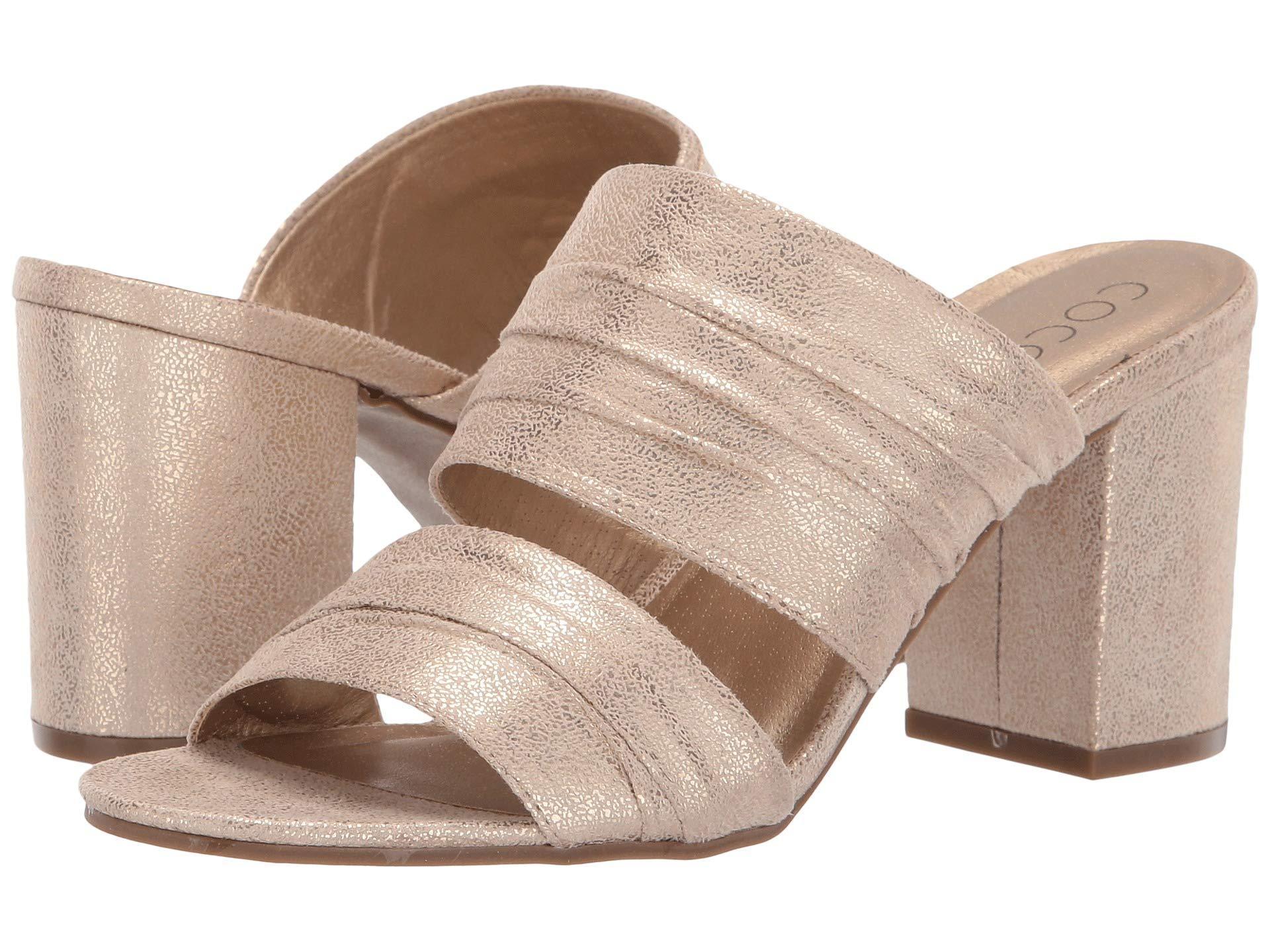 f2c28cbd63a676 Lyst - Matisse Radience Block Heel Mule (pewter) Women s Clog mule ...