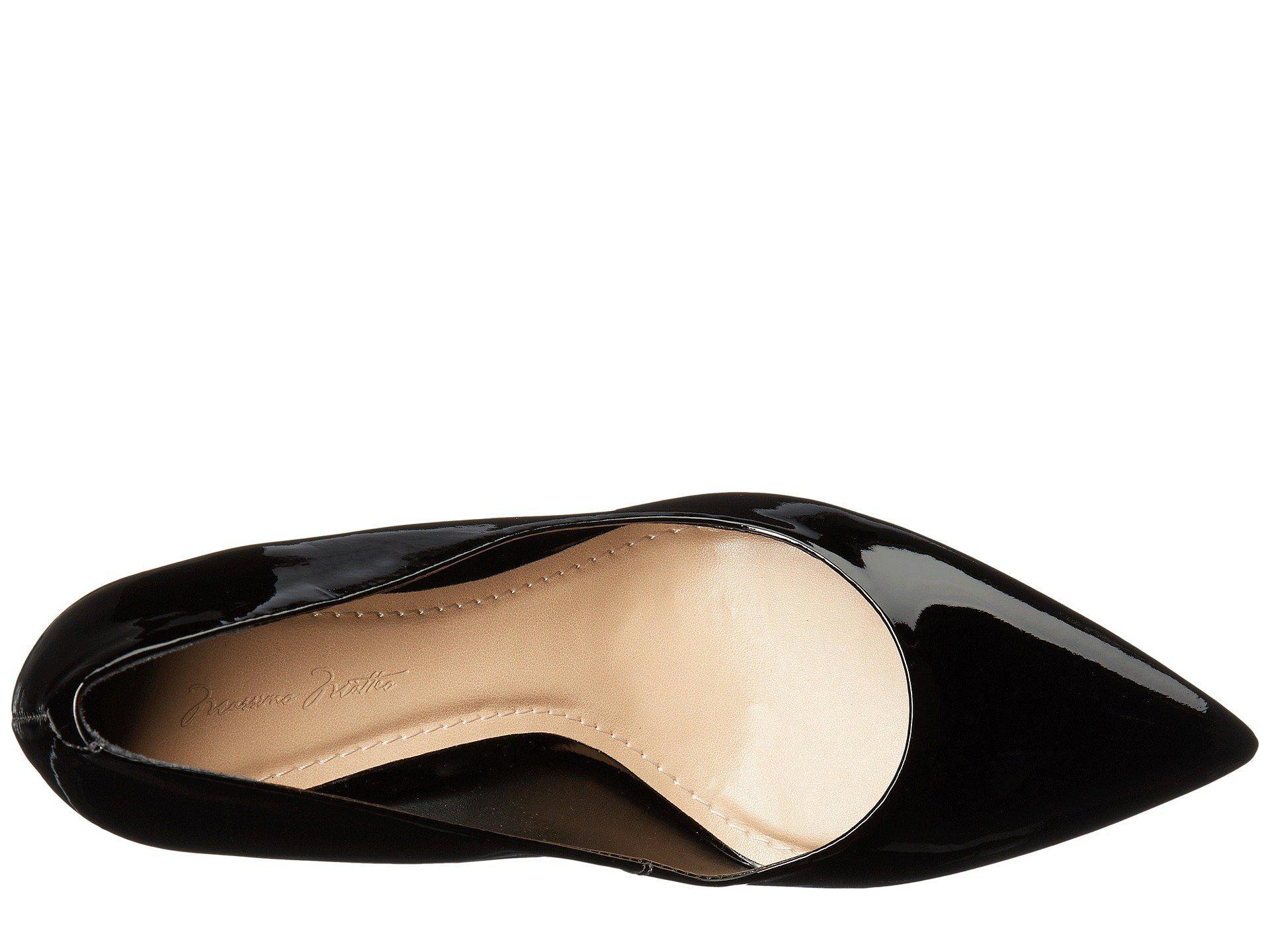 c3eab55adf6a Massimo Matteo - Block Heel Pump (black Patent) High Heels - Lyst. View  fullscreen