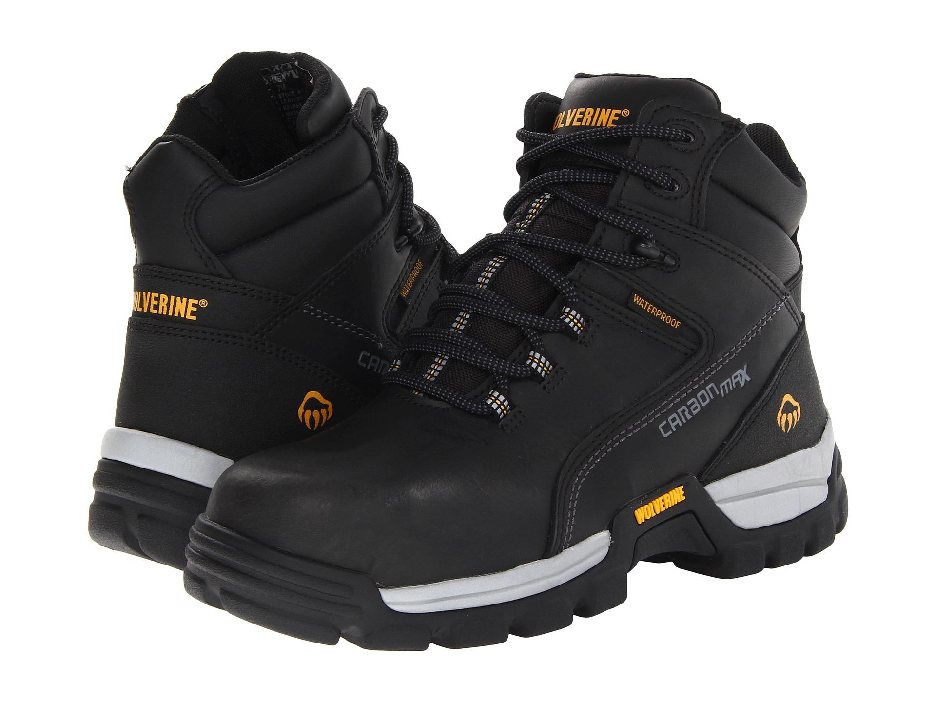 Wolverine Tarmac Comp Toe 6 Quot Boot In Black For Men Lyst