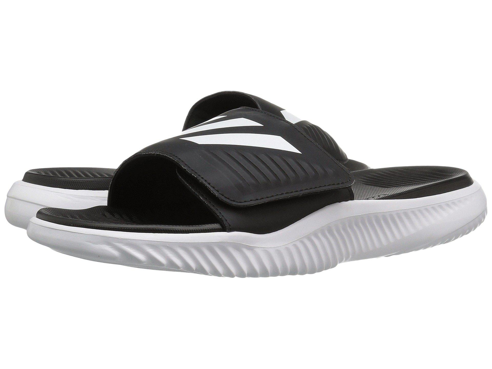 9ade90b34a6b5e Lyst - adidas Alphabounce Slide (footwear White core Black) Men s ...