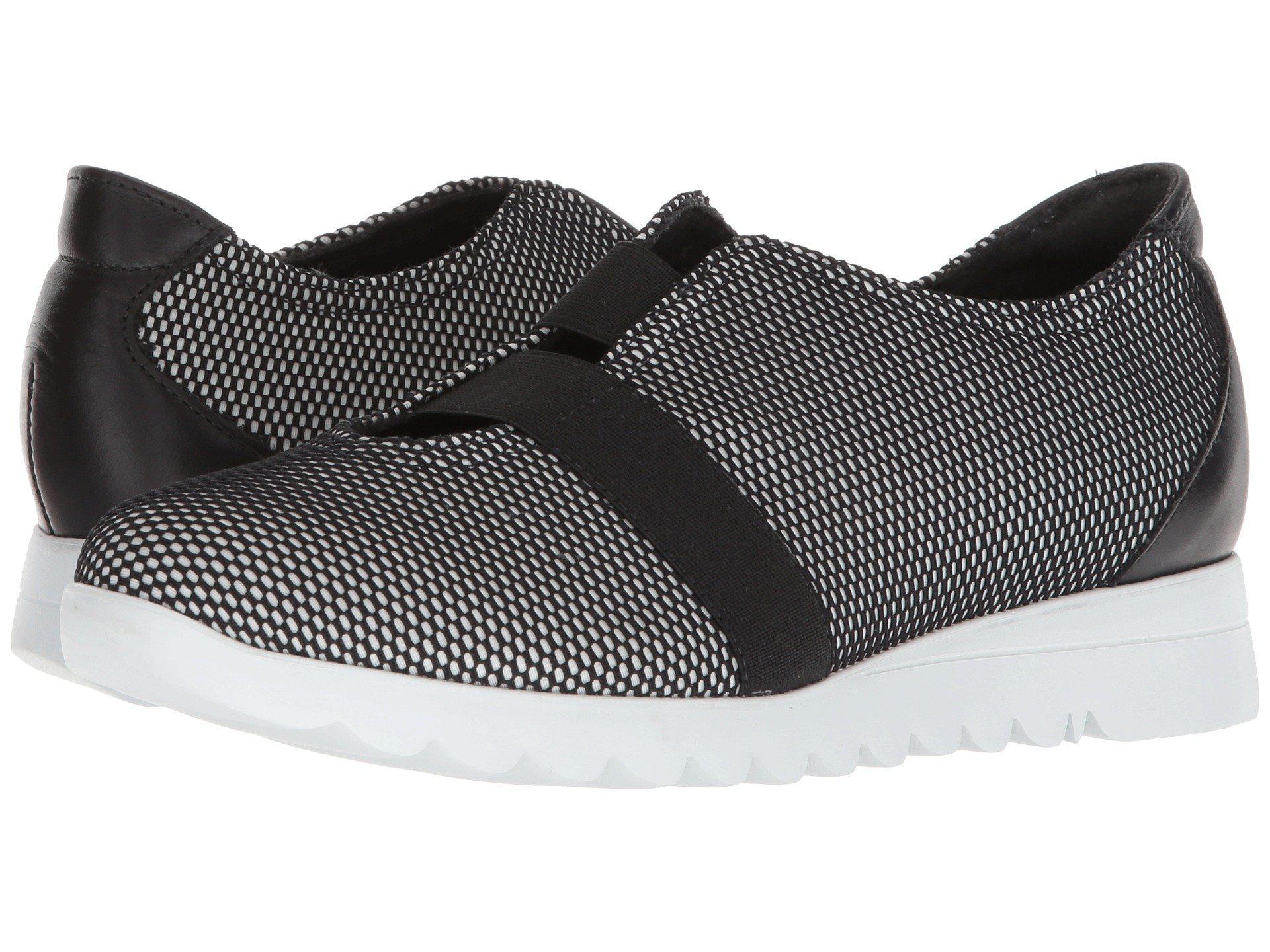 6998e57e31f Lyst - Munro Alta (black white Mesh) Women s Slip On Shoes in Black