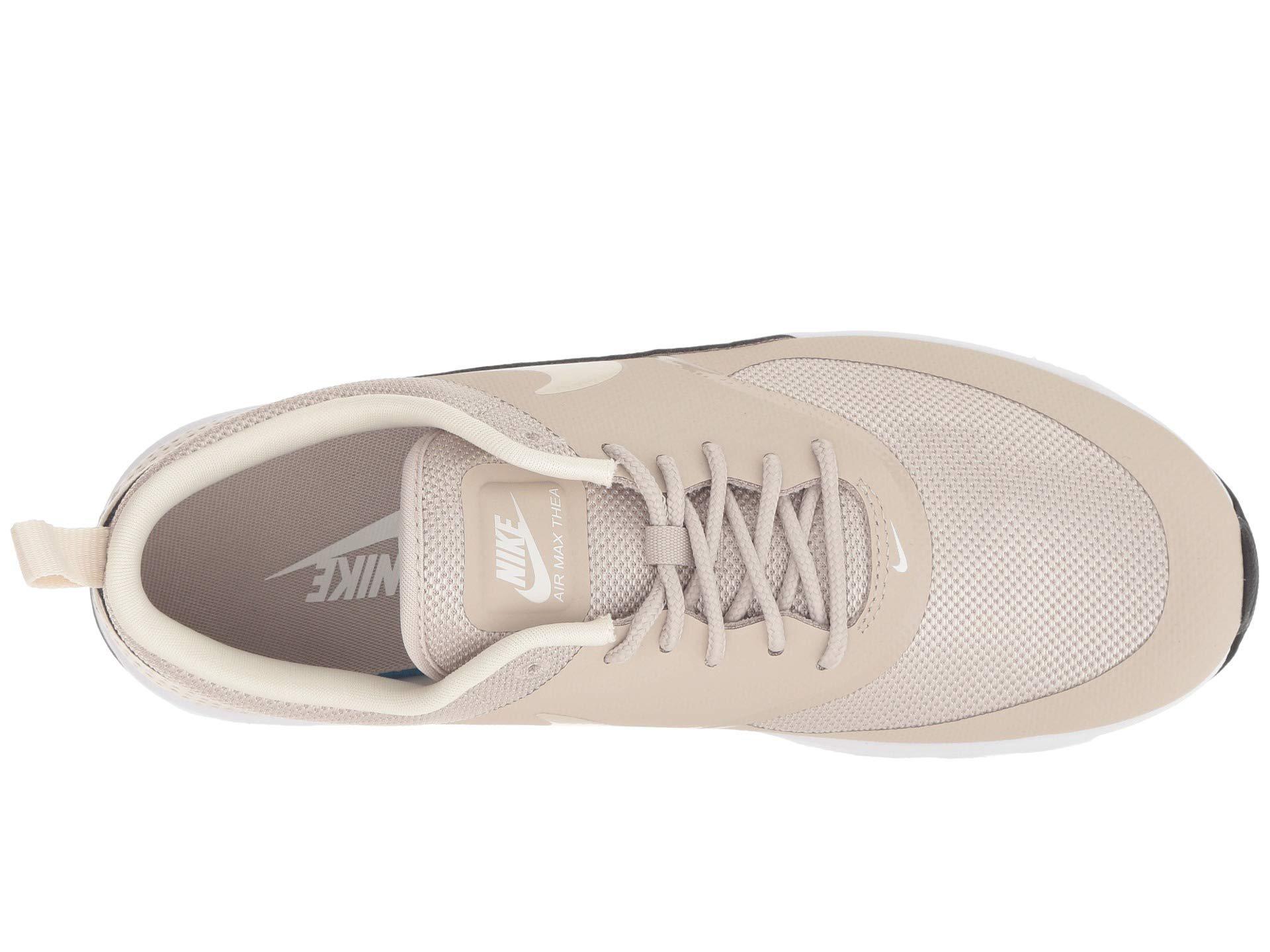 Nike Pink Air Max Thea (stringlight Creamblackwhite) Women's Shoes
