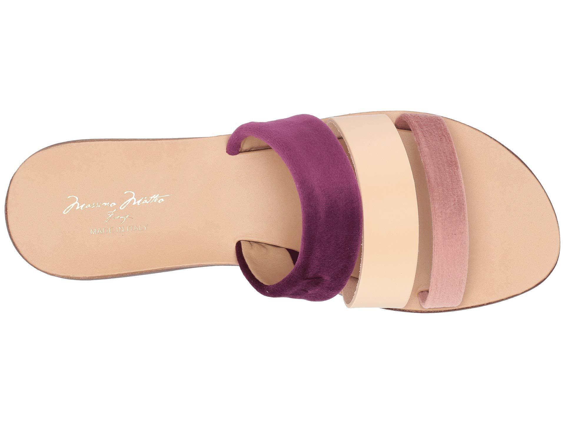 14214866fefd Massimo Matteo - Multicolor 3 Band Sandal (rosa chiaro) Women s Sandals -  Lyst. View fullscreen
