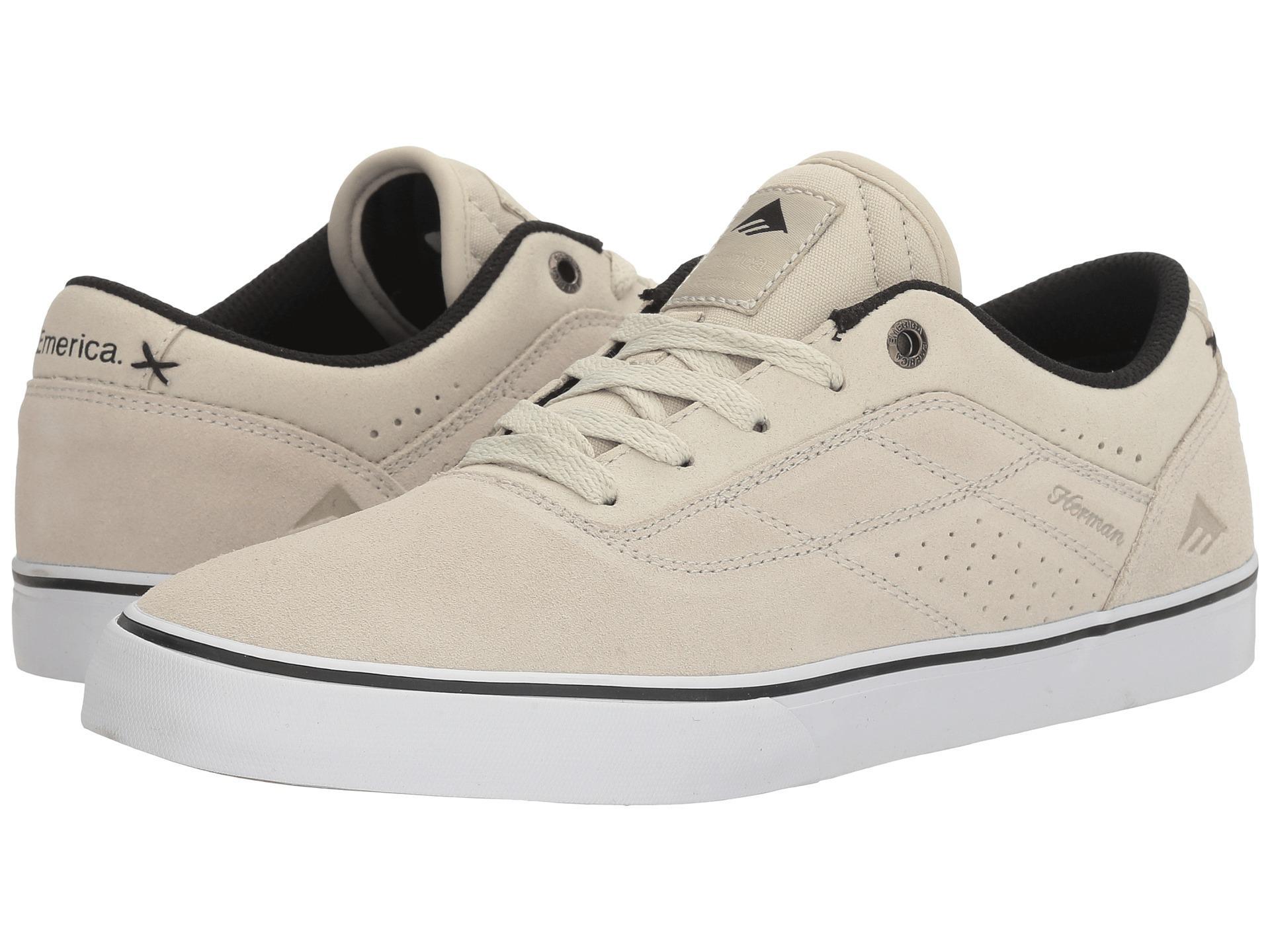 Emerica The Herman G6 Vulc Dark Grey//White Shoe