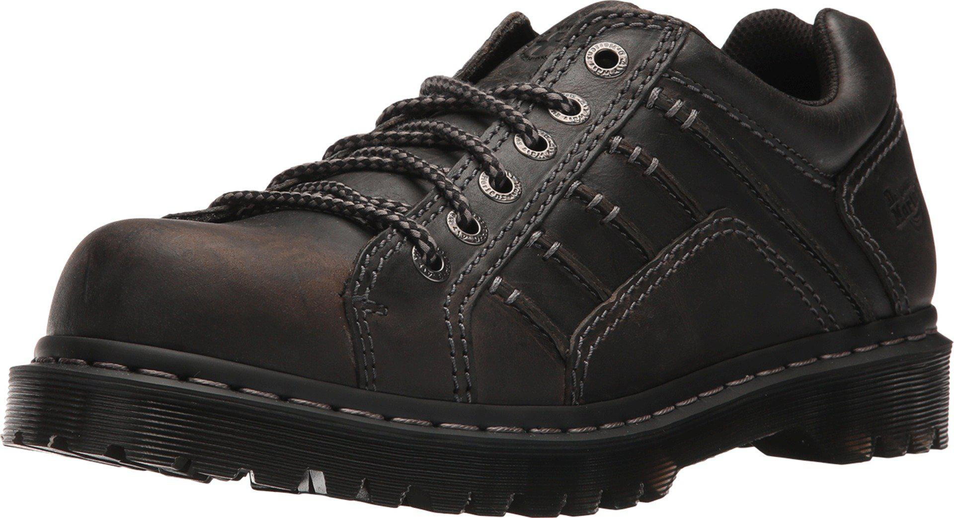Dr. Martens Leather Keith in Black for