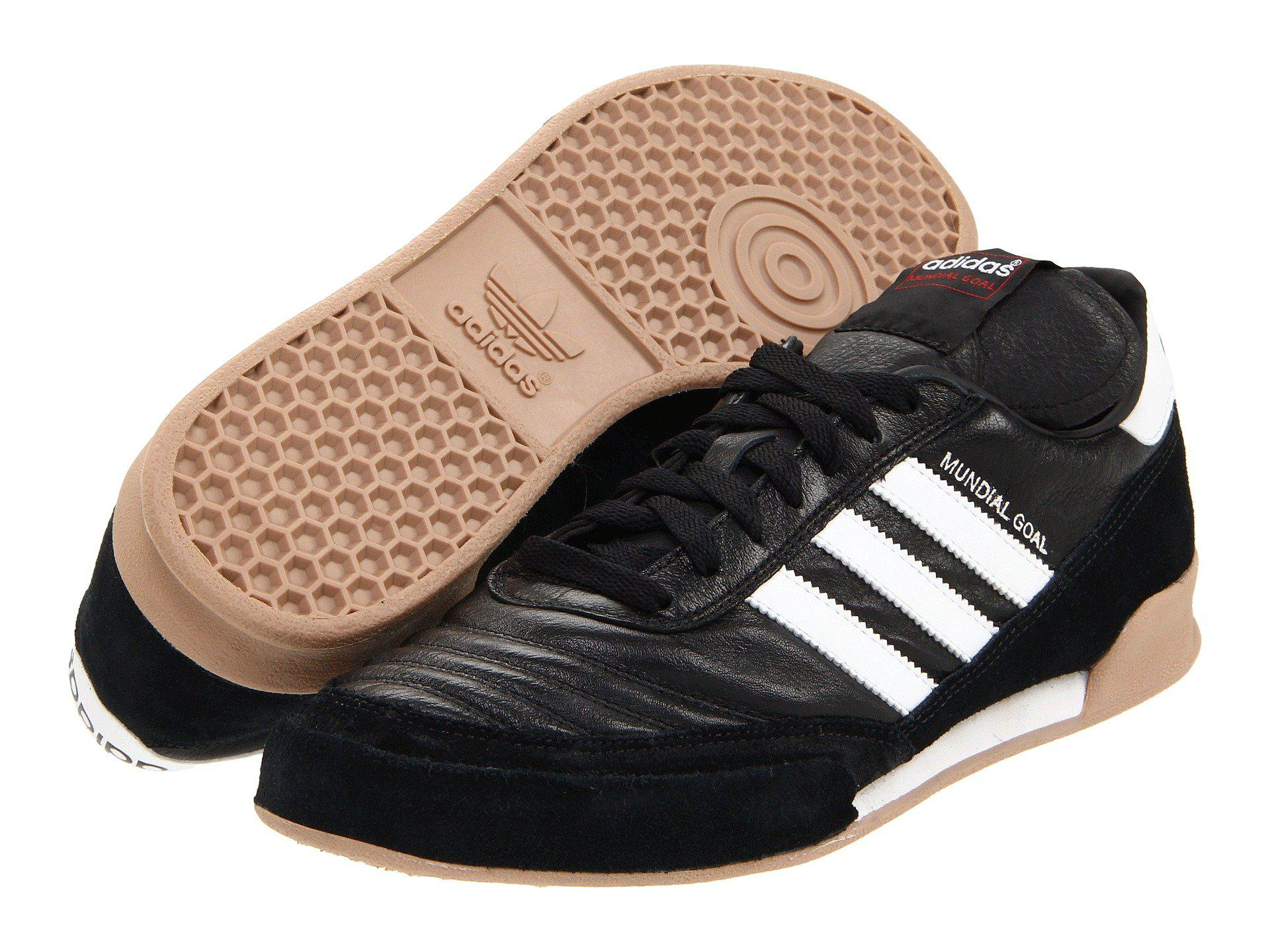 new arrival 7127c 97190 Adidas - Mundial Goal (black running White) Men s Soccer Shoes for Men -.  View fullscreen