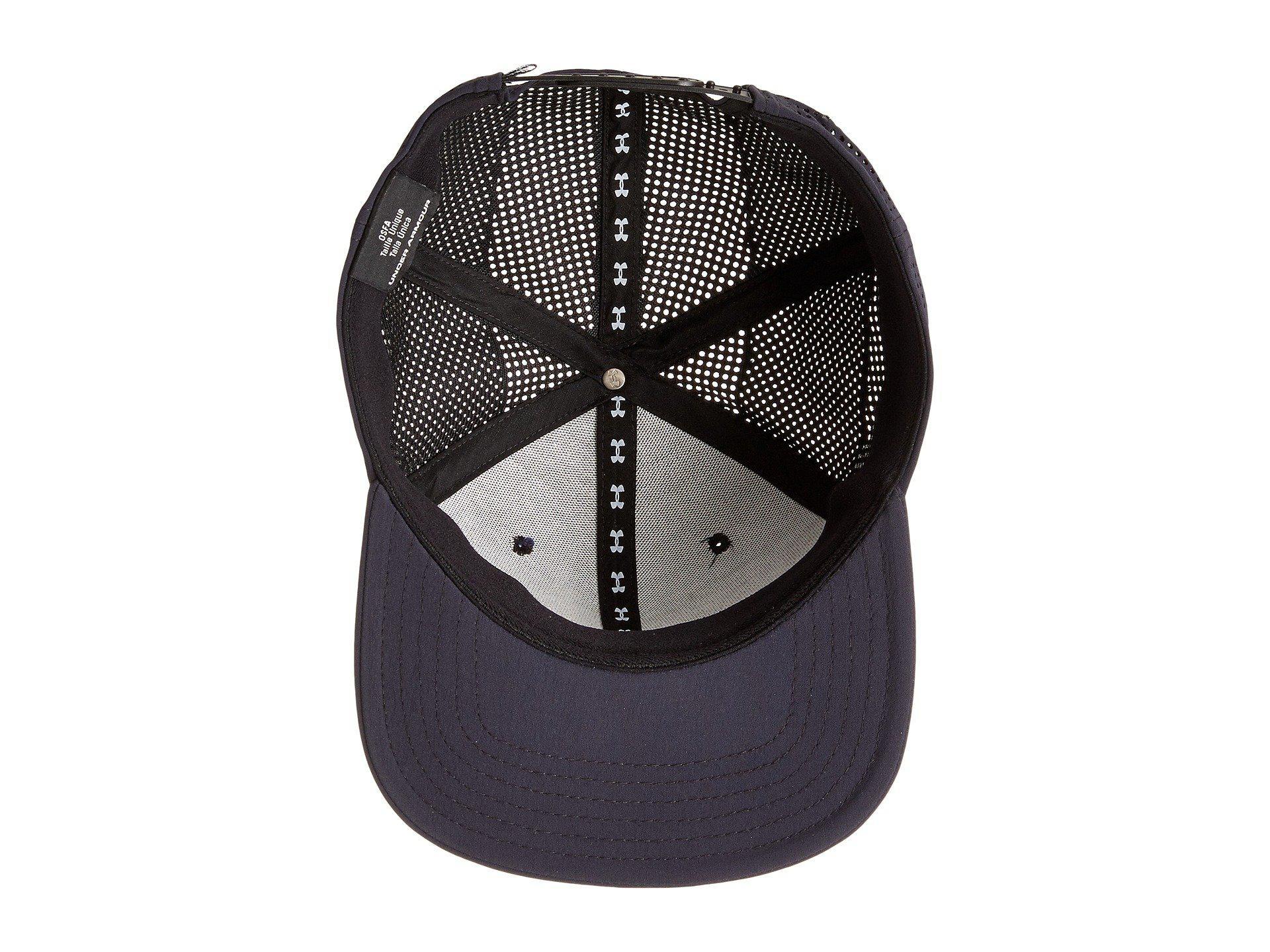 1900feaa1 Men's Black Ua Supervent Fb Hat