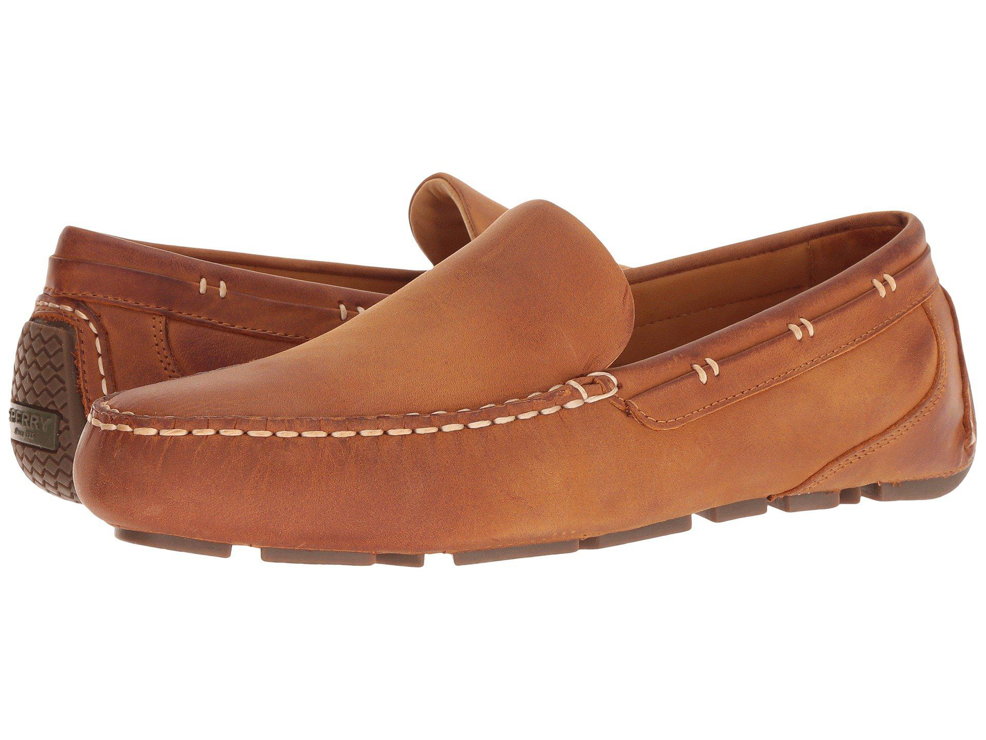 68de29111d Lyst - Sperry Top-Sider Gold Harpswell Driver With Asv (black) Men s ...