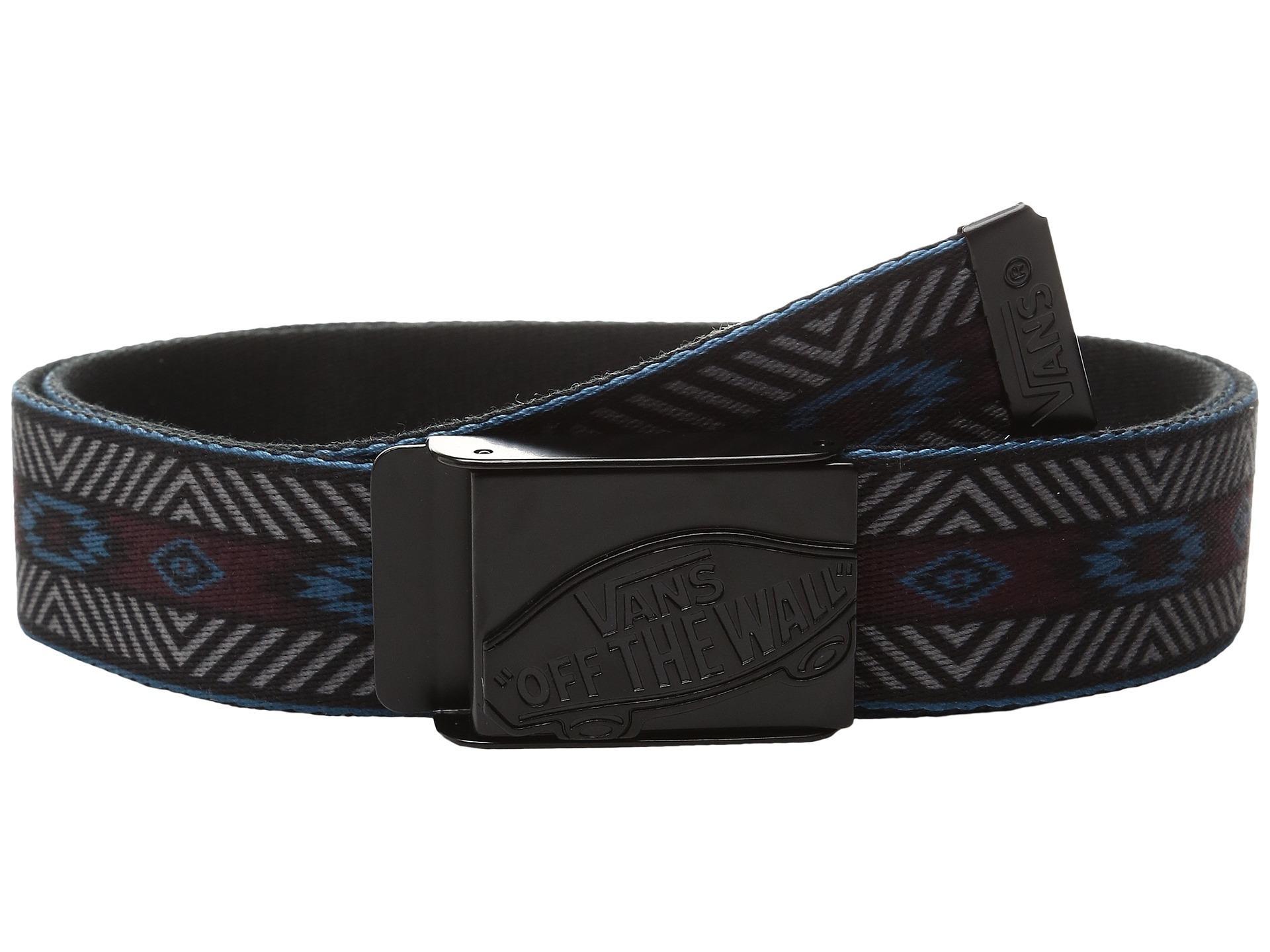 210def18bc Lyst - Vans Shredator Web Belt in Black for Men