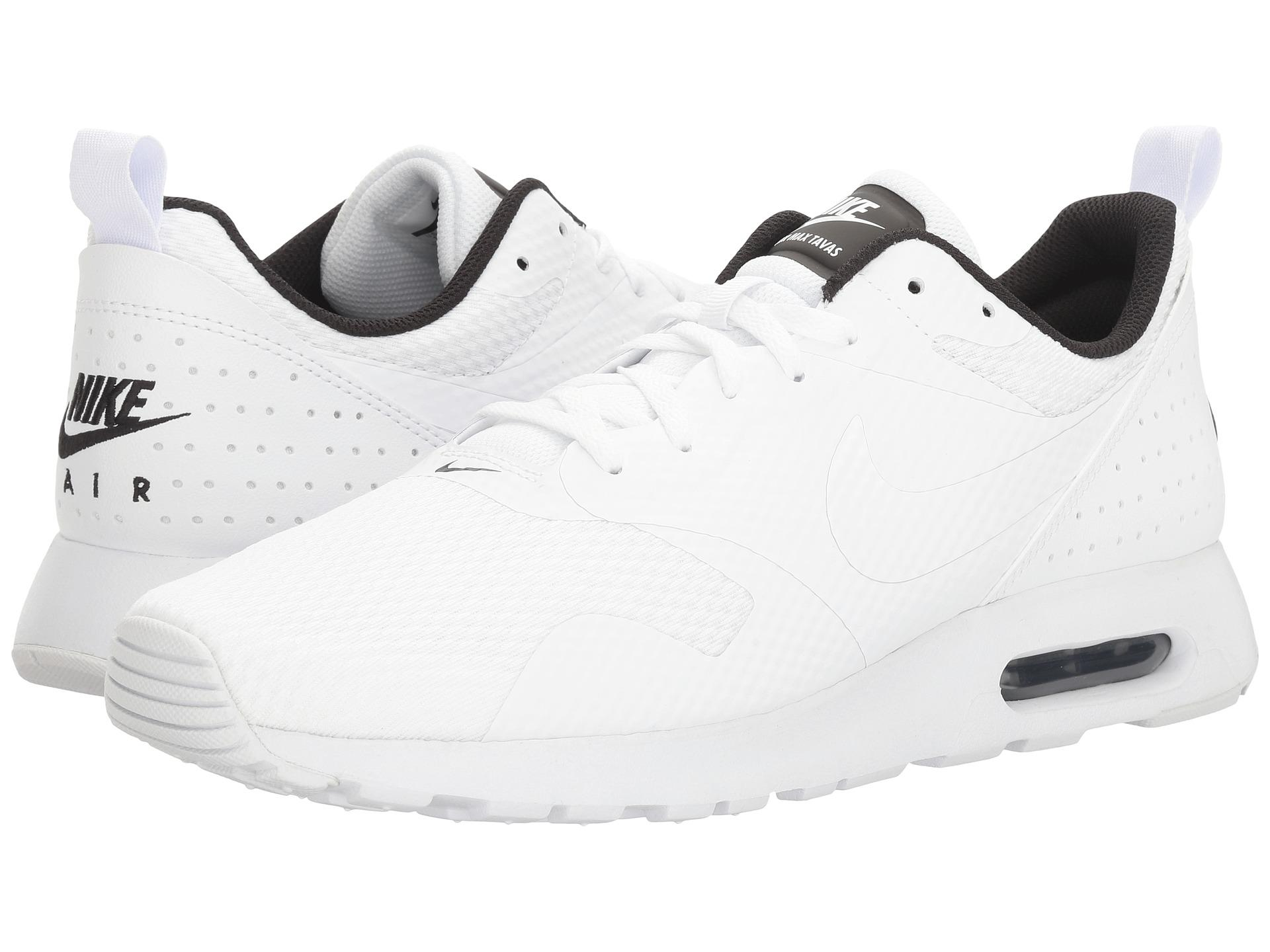 competitive price 2e1c3 598a3 Lyst - Nike Air Max Tavas in White for Men