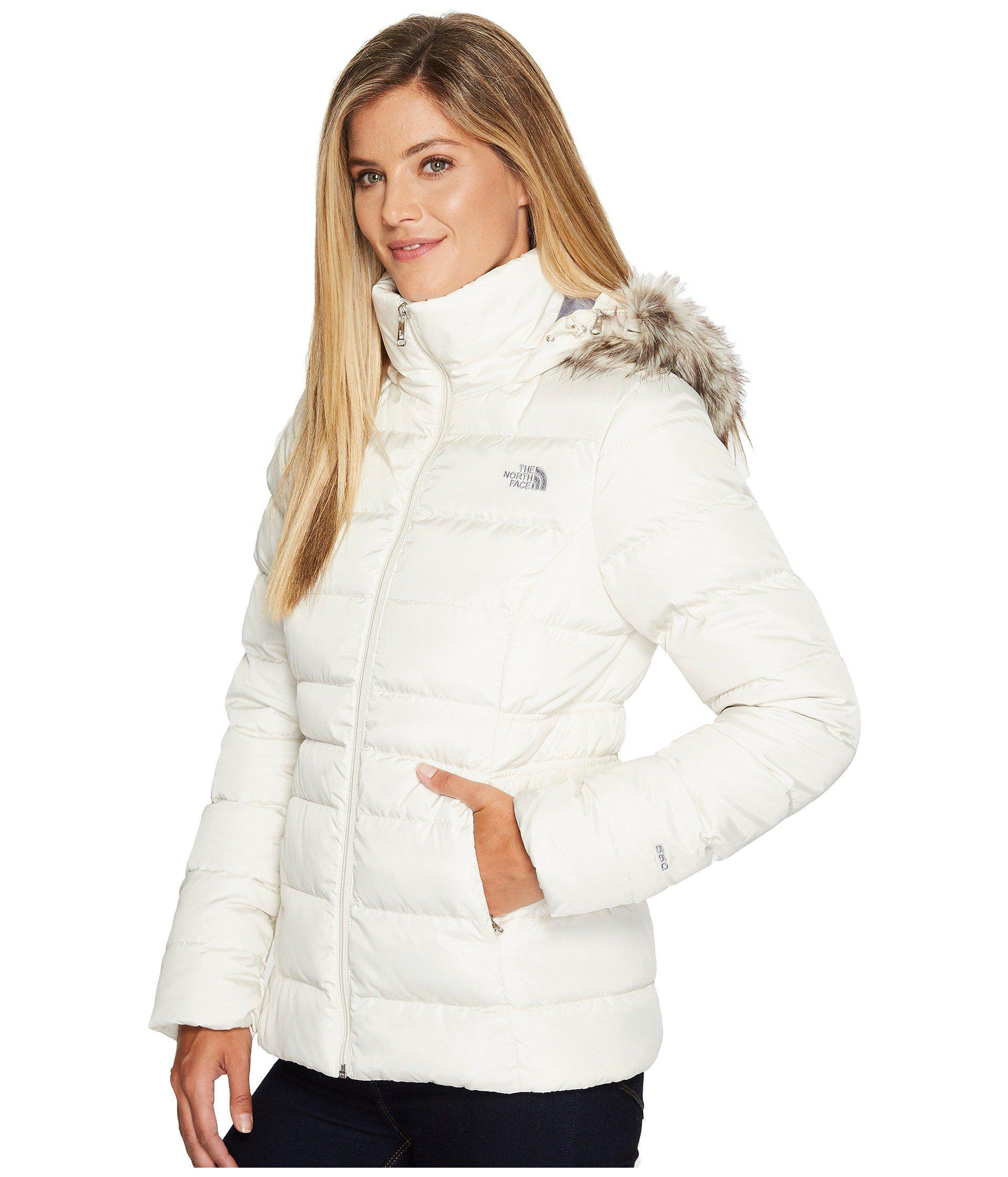 80e2f88b8 White Gotham Jacket Ii (tnf Black) Women's Coat