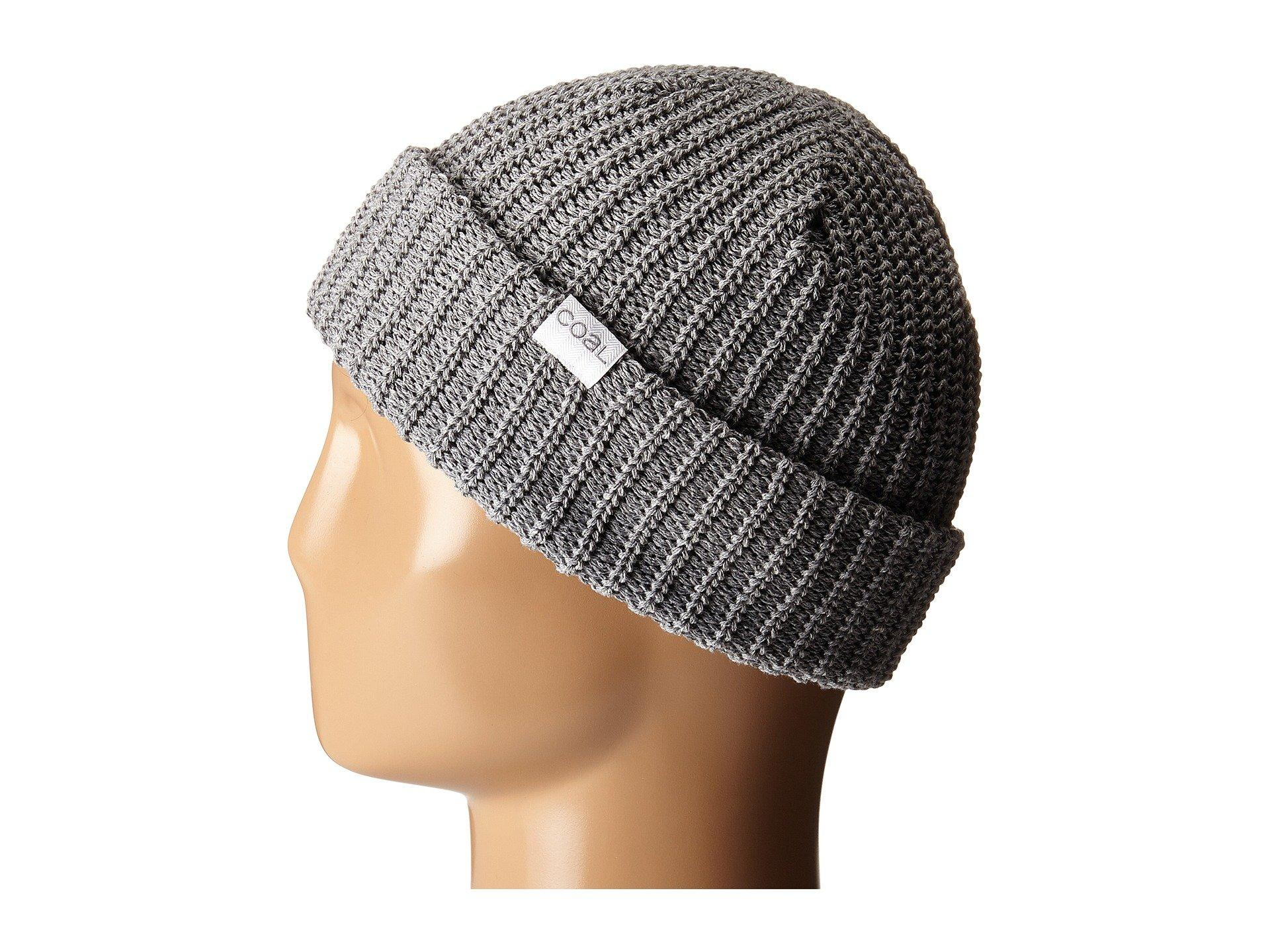 02e80a97e Lyst - Coal The Eddie (heather Grey) Caps in Gray for Men