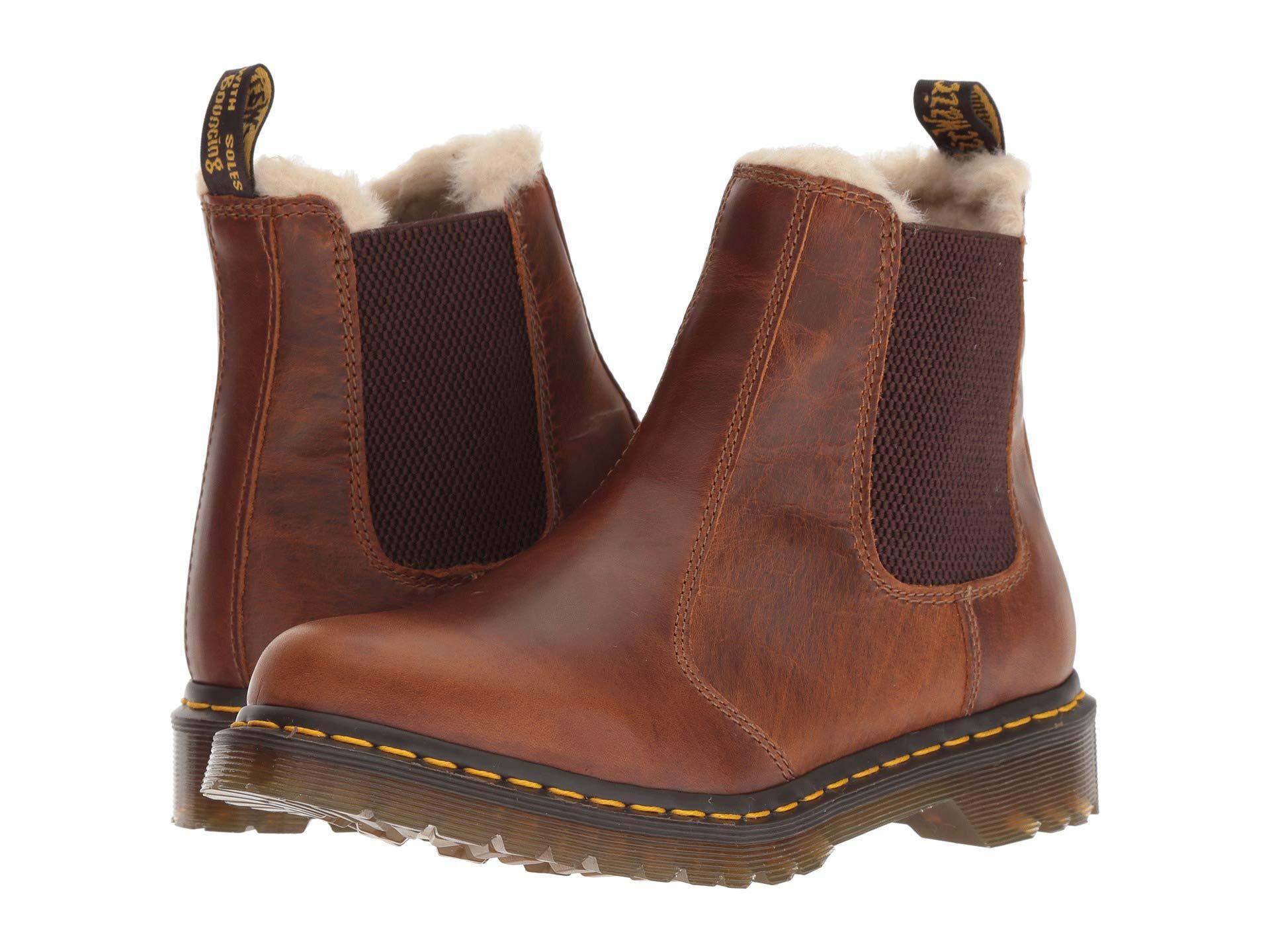 Dr Martens 1460 Serena 8 Eye Boot Butterscotch Orleans Winterstiefel Boots