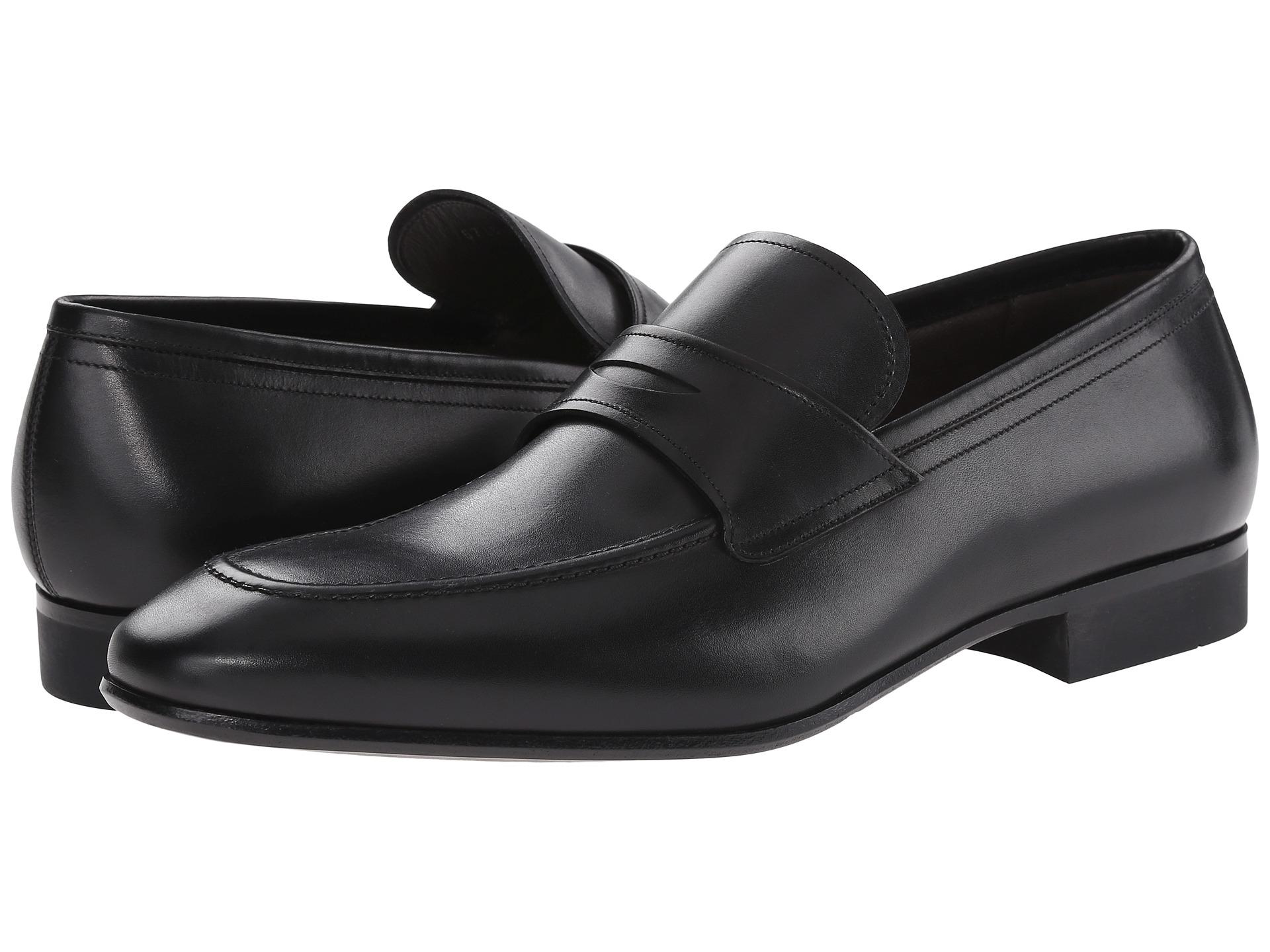 Ferragamo Metro Loafer In Black For Men | Lyst