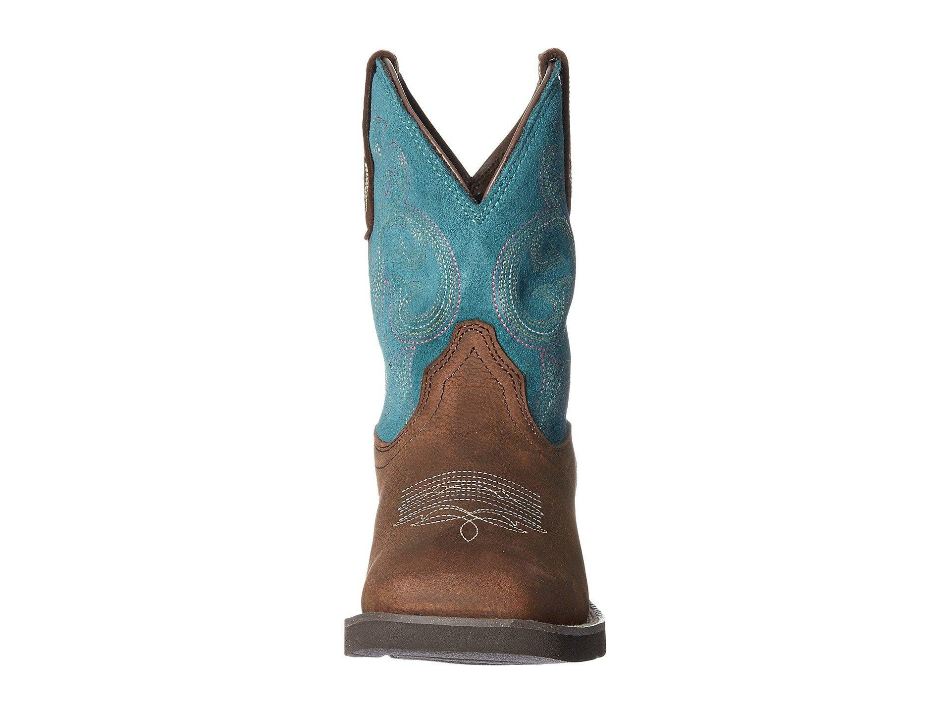 16f7a4ff02b Lyst - Ariat Shasta H2o (baked Brown turquoise) Cowboy Boots in Brown