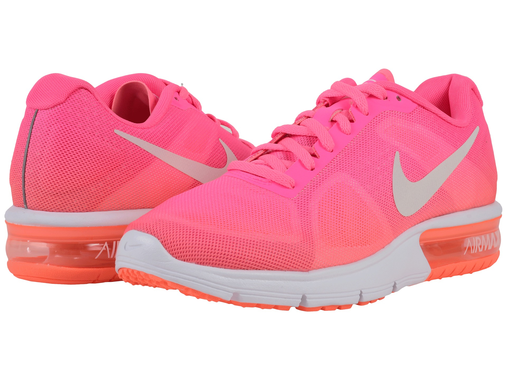 lyst nike air max sequent in pink. Black Bedroom Furniture Sets. Home Design Ideas