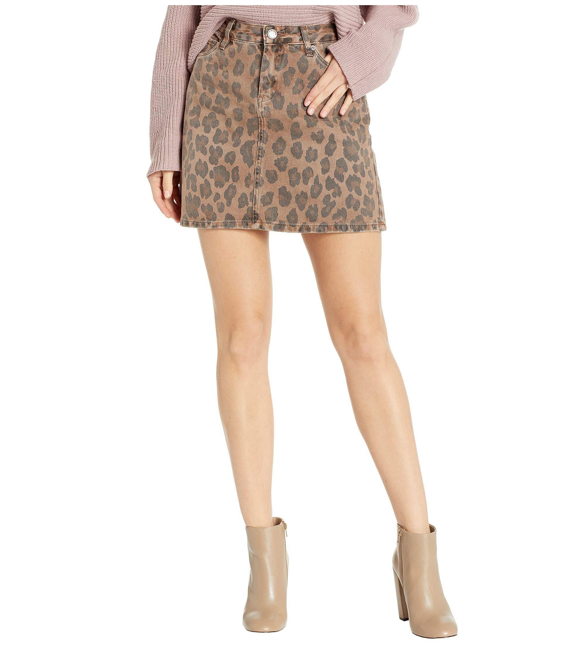 05b00cd246f Blank NYC - Multicolor Cheetah Printed Mini Skirt In Catwalk (catwalk)  Women s Skirt -. View fullscreen