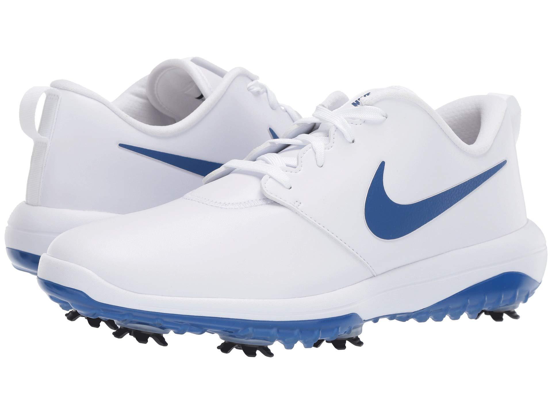 watch 68c3b 130f9 Nike. Men s White Roshe G Tour Golf Shoe
