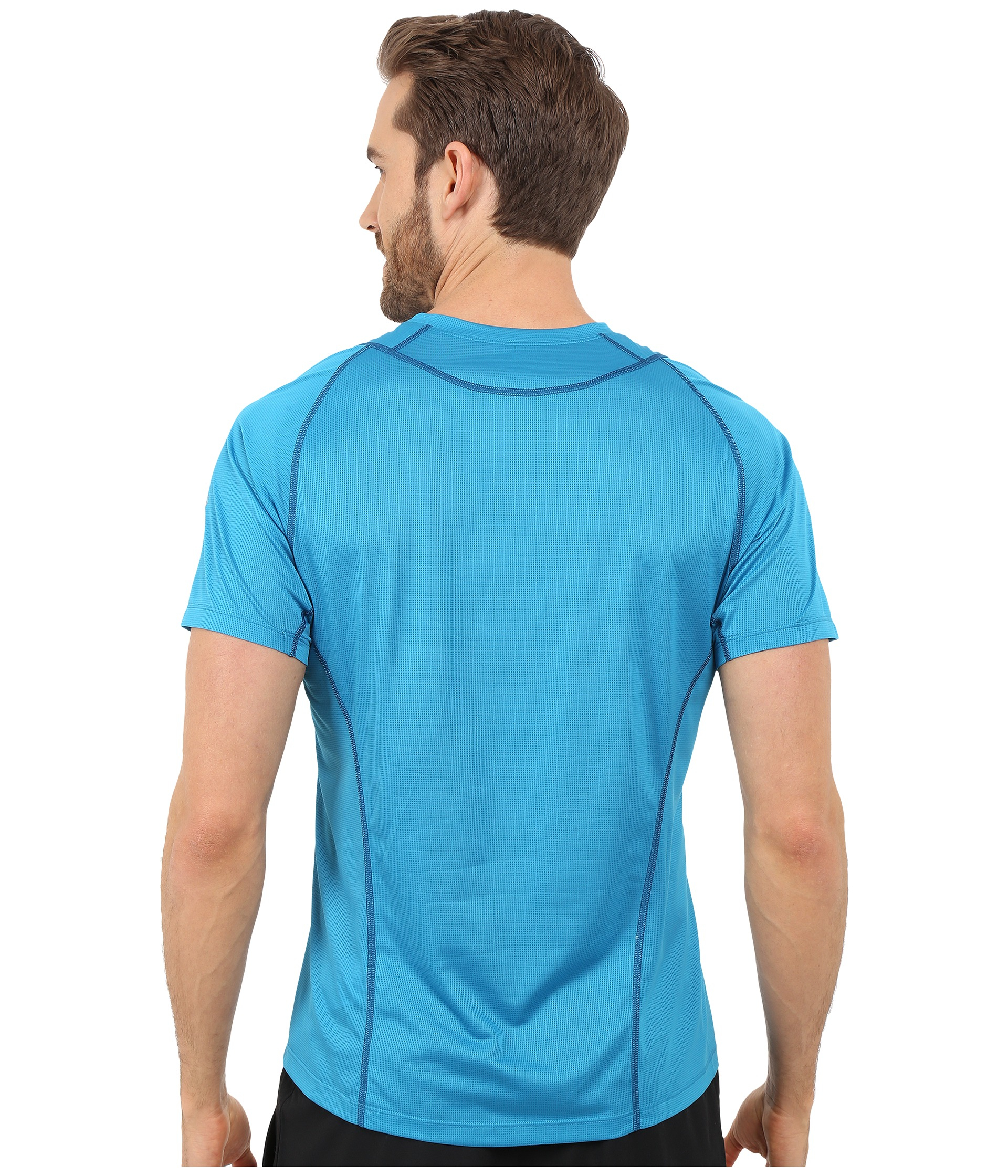 Arc Teryx Sarix Short Sleeve In Blue For Men Adriatic