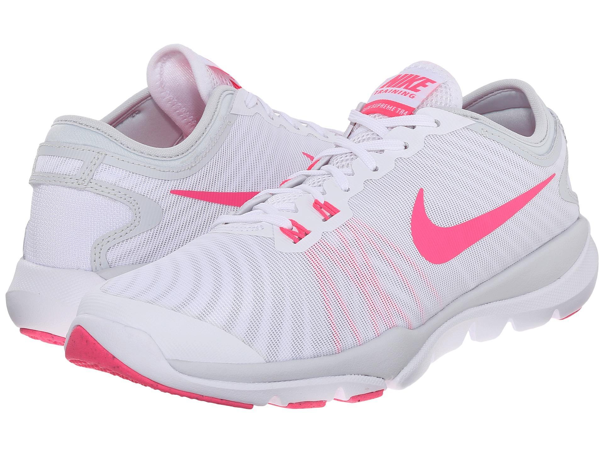 Nike Flex Supreme Tr4 In White For Men Lyst