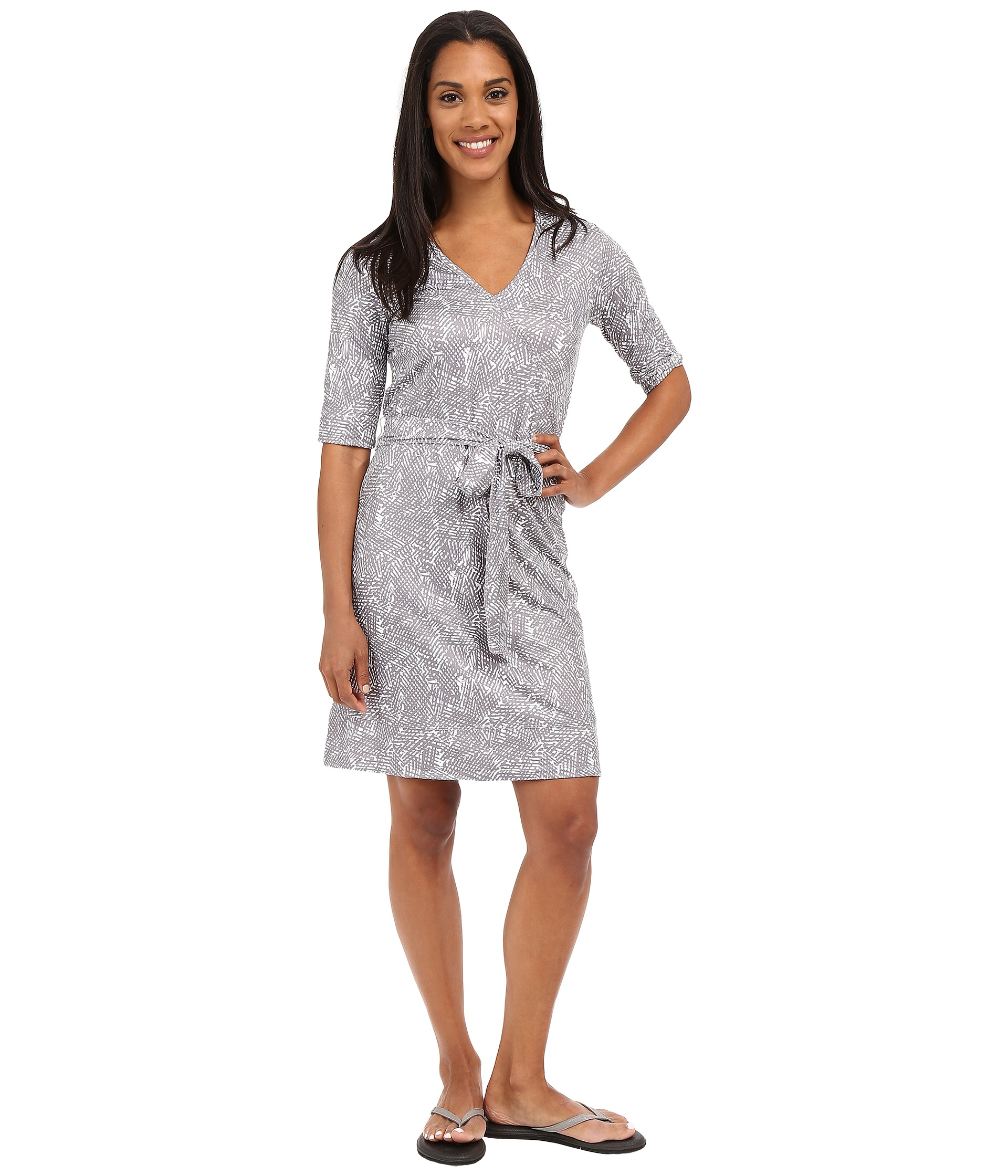 Lolë Blair Dress in Gray