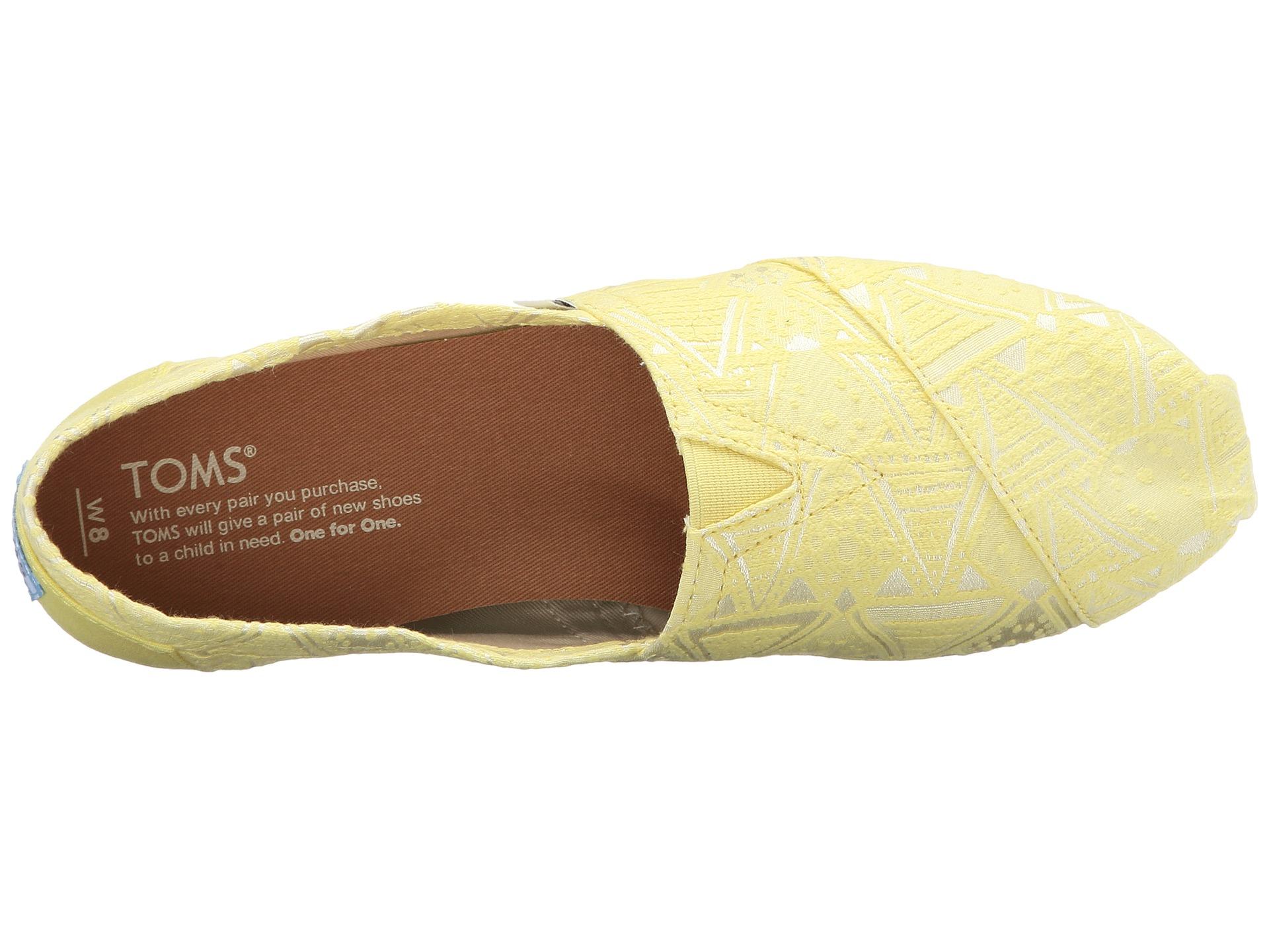 675c7c052890d TOMS Yellow Seasonal Classics