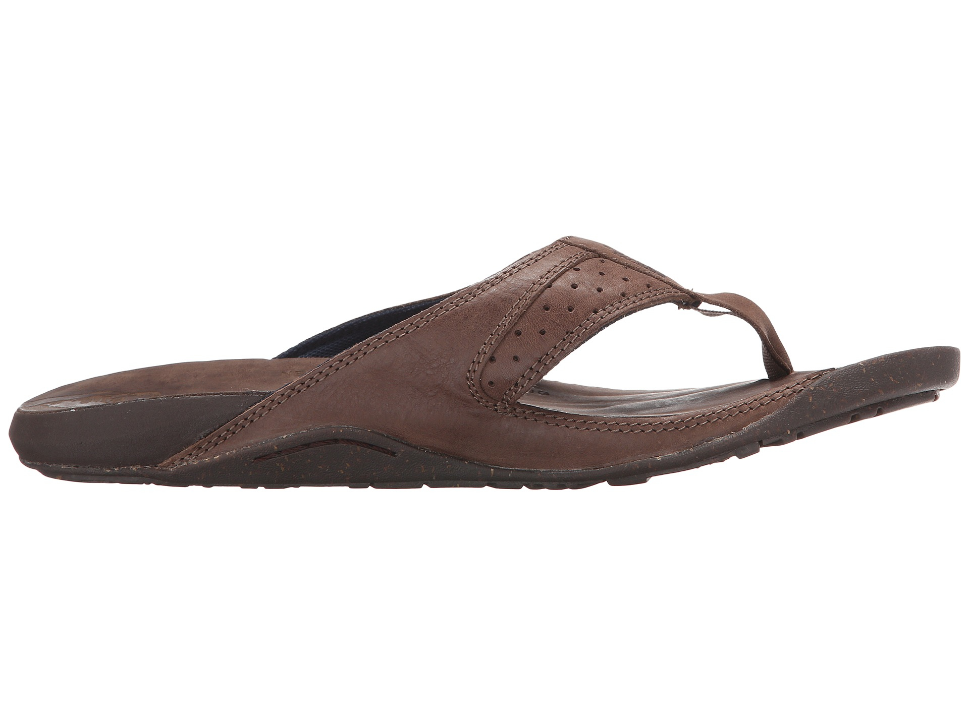 05b5ca138 The North Face Brown Bridgeton Flip Flop for men