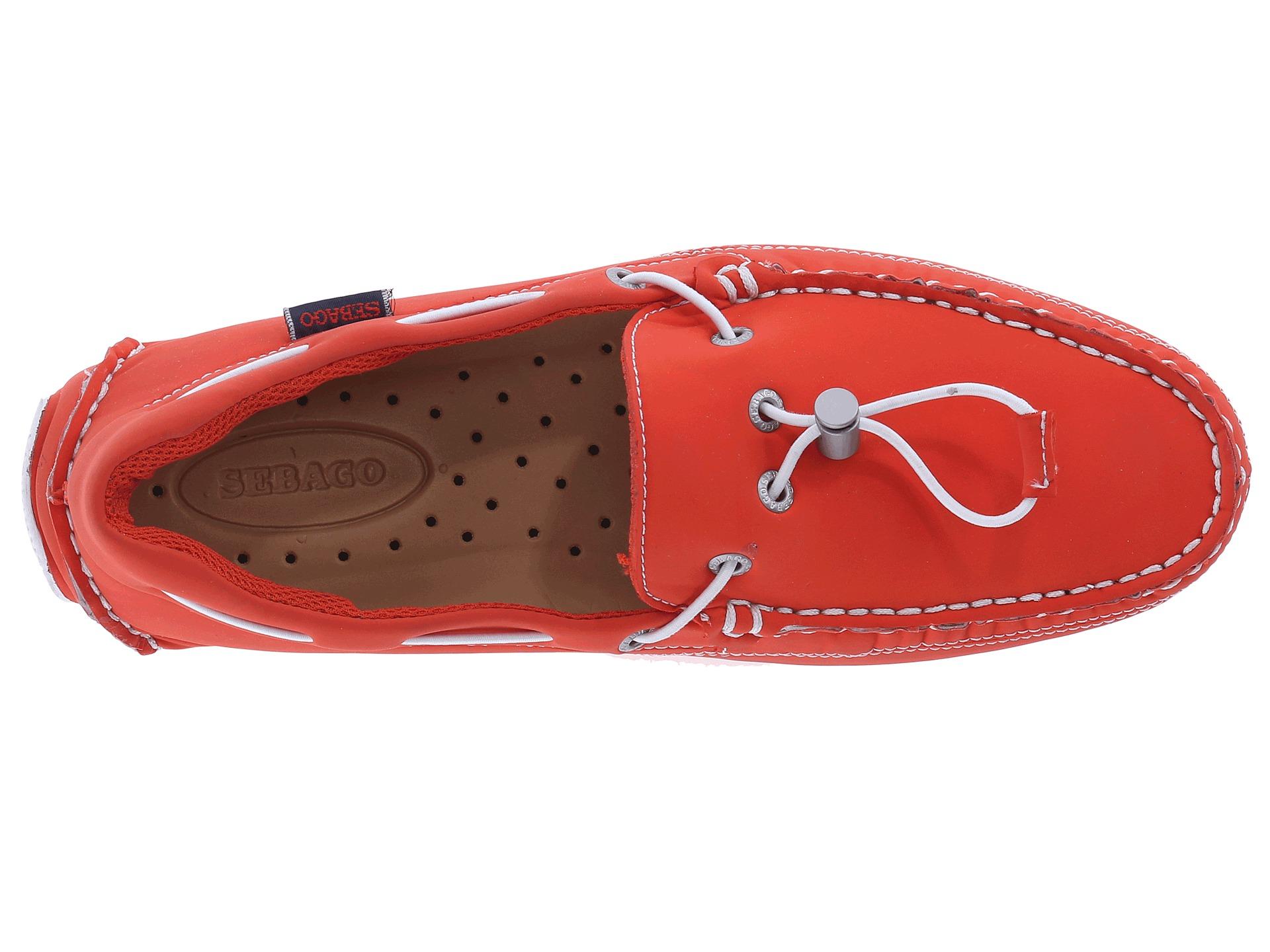 Sebago Kedge Tie Ariaprene in Red for Men