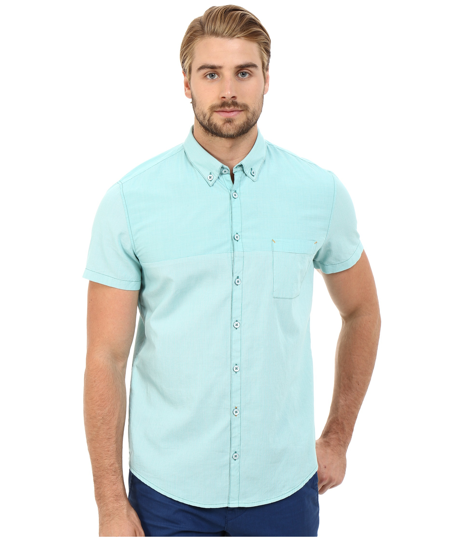 Boss orange Erollese Button Down Shirt 10187168 01 in ...