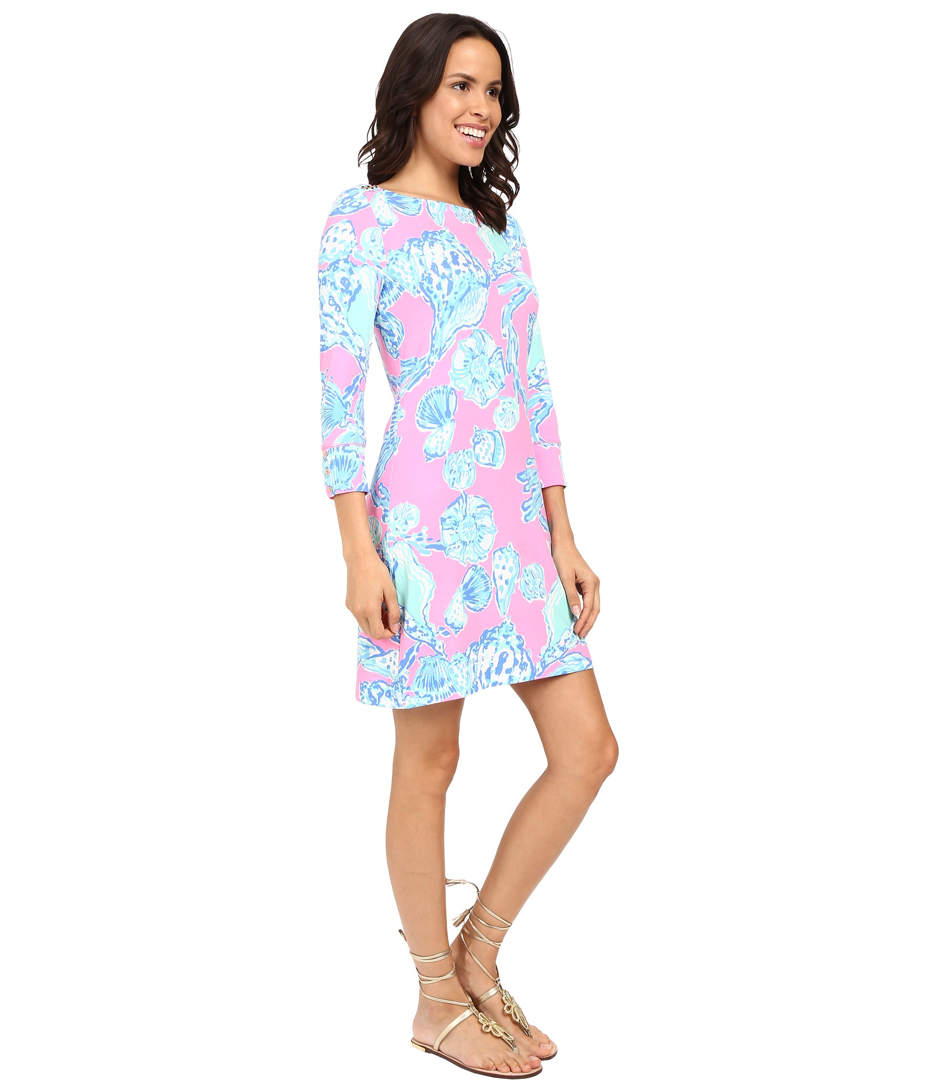 Sophie Dress: Lilly Pulitzer Upf 50+ Sophie Dress In Blue