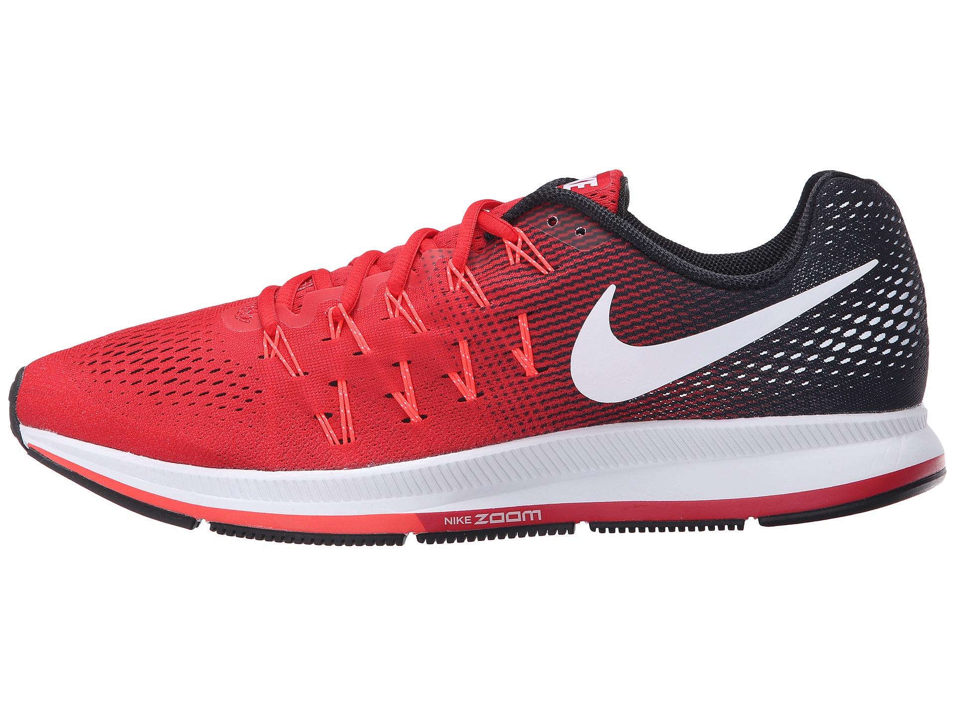 rumor Padre Morgue  Nike Rubber Air Zoom Pegasus 33 in Red for Men - Lyst