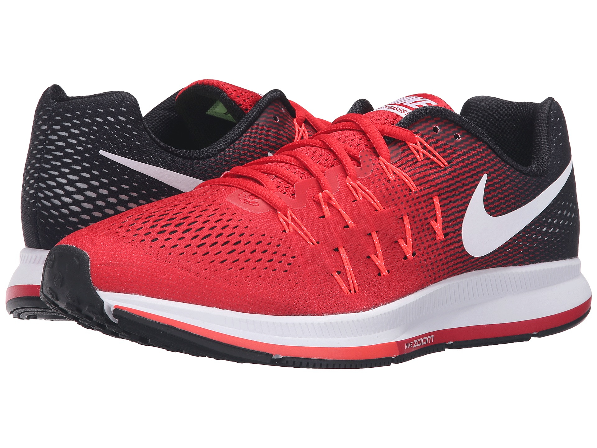 eee5590307e8 Lyst - Nike Air Zoom Pegasus 33 in Red for Men