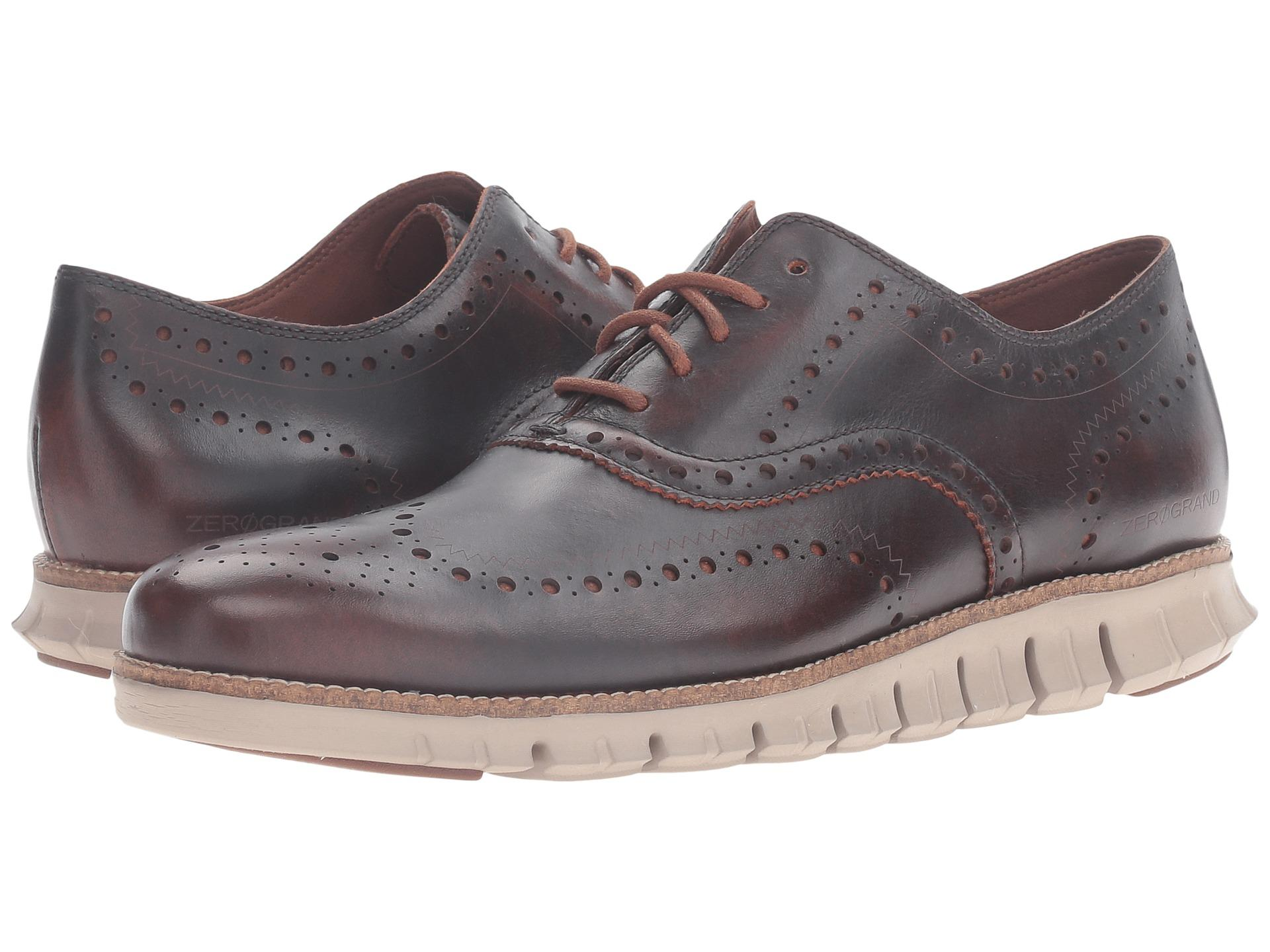 Cole Haan Zerogrand Wing Oxford In Brown For Men Lyst