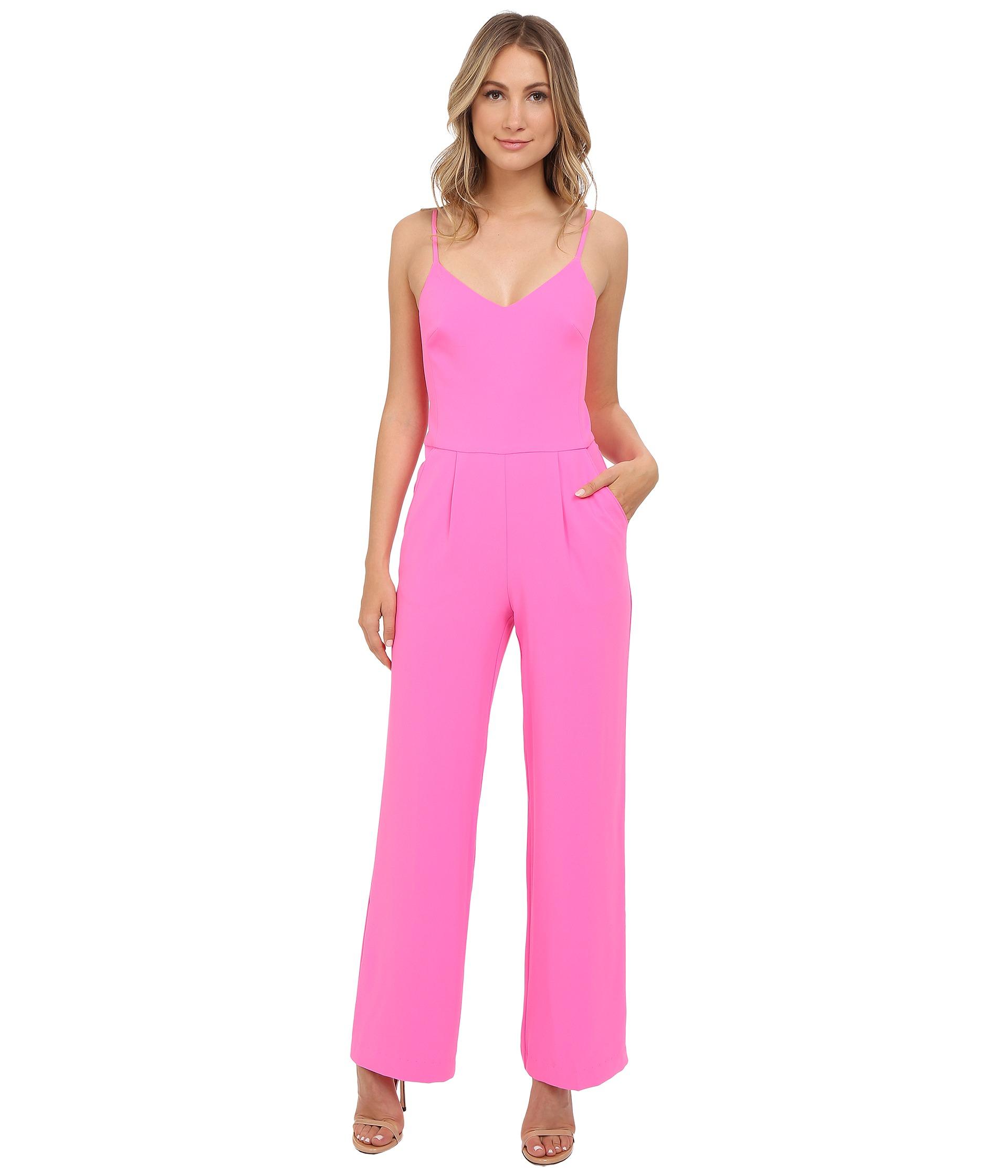 2f48f747a6f Lyst - Trina Turk Zadie Jumpsuit in Pink