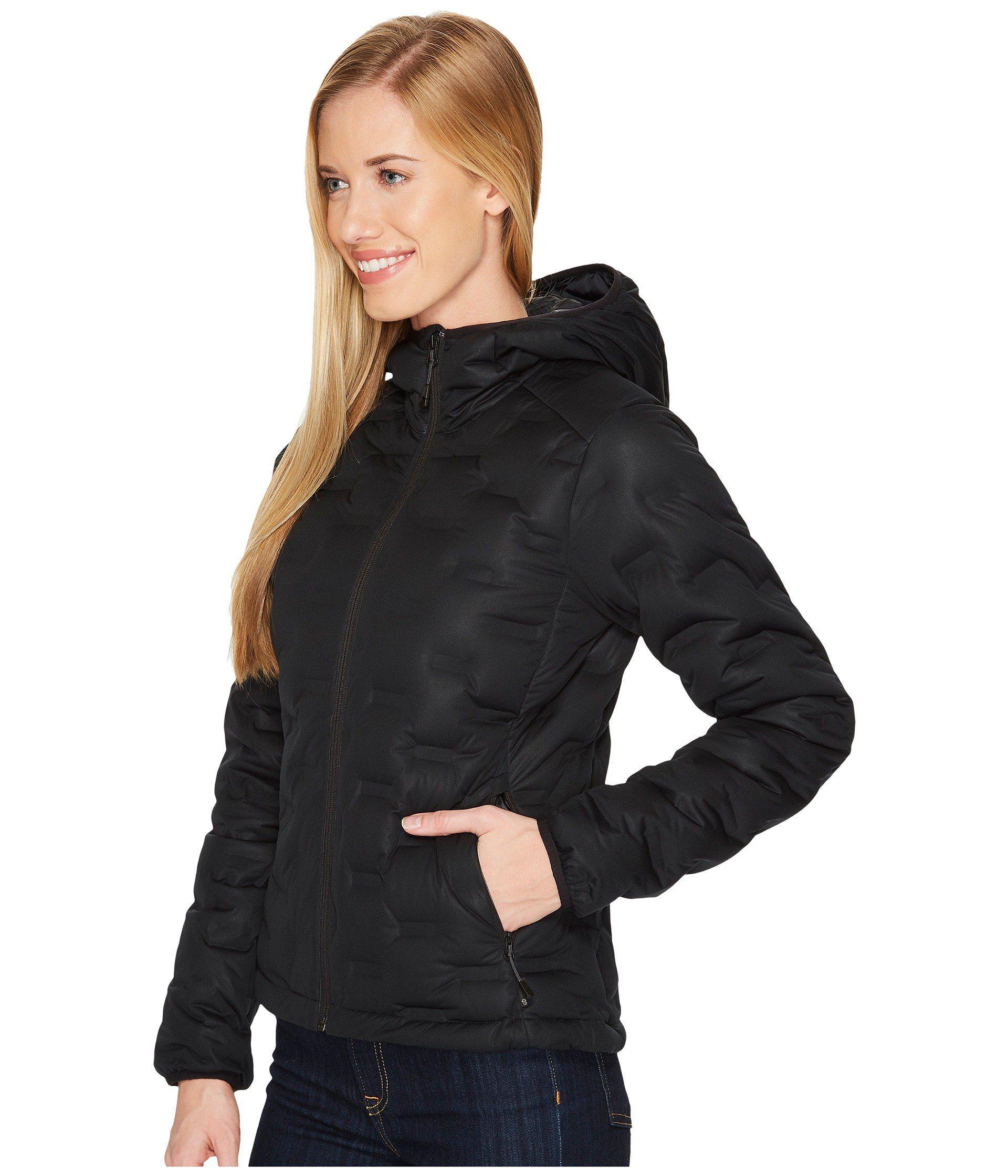 045c6947396 Lyst - Mountain Hardwear Stretchdown Ds Hooded Jacket (black) Women s Coat  in Black