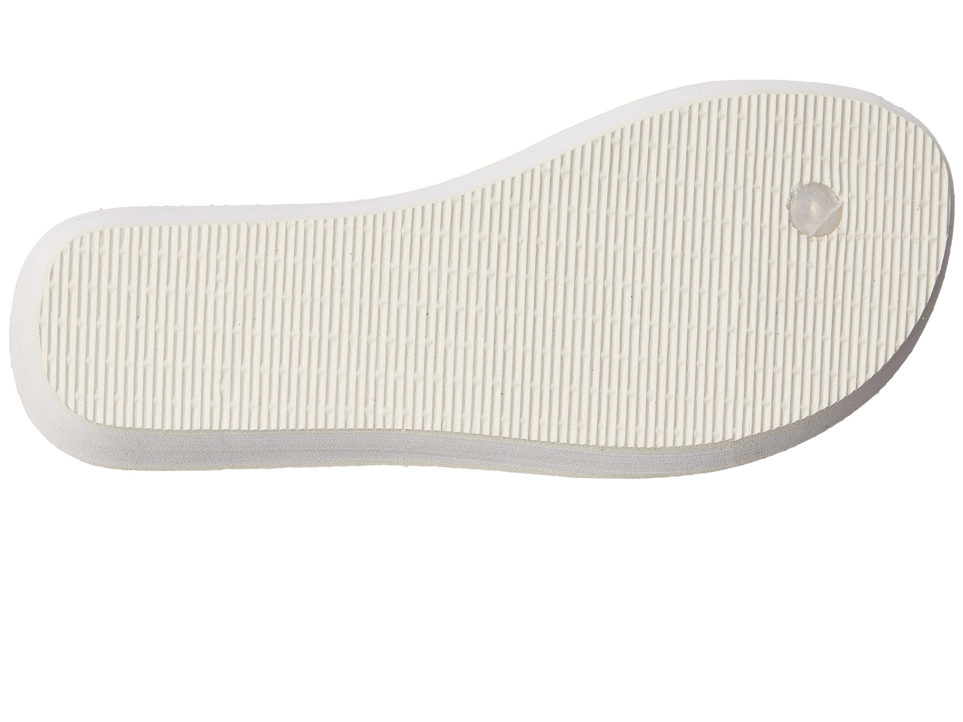 Havaianas Synthetic Highlight Glamour Flip Flops In White -7672