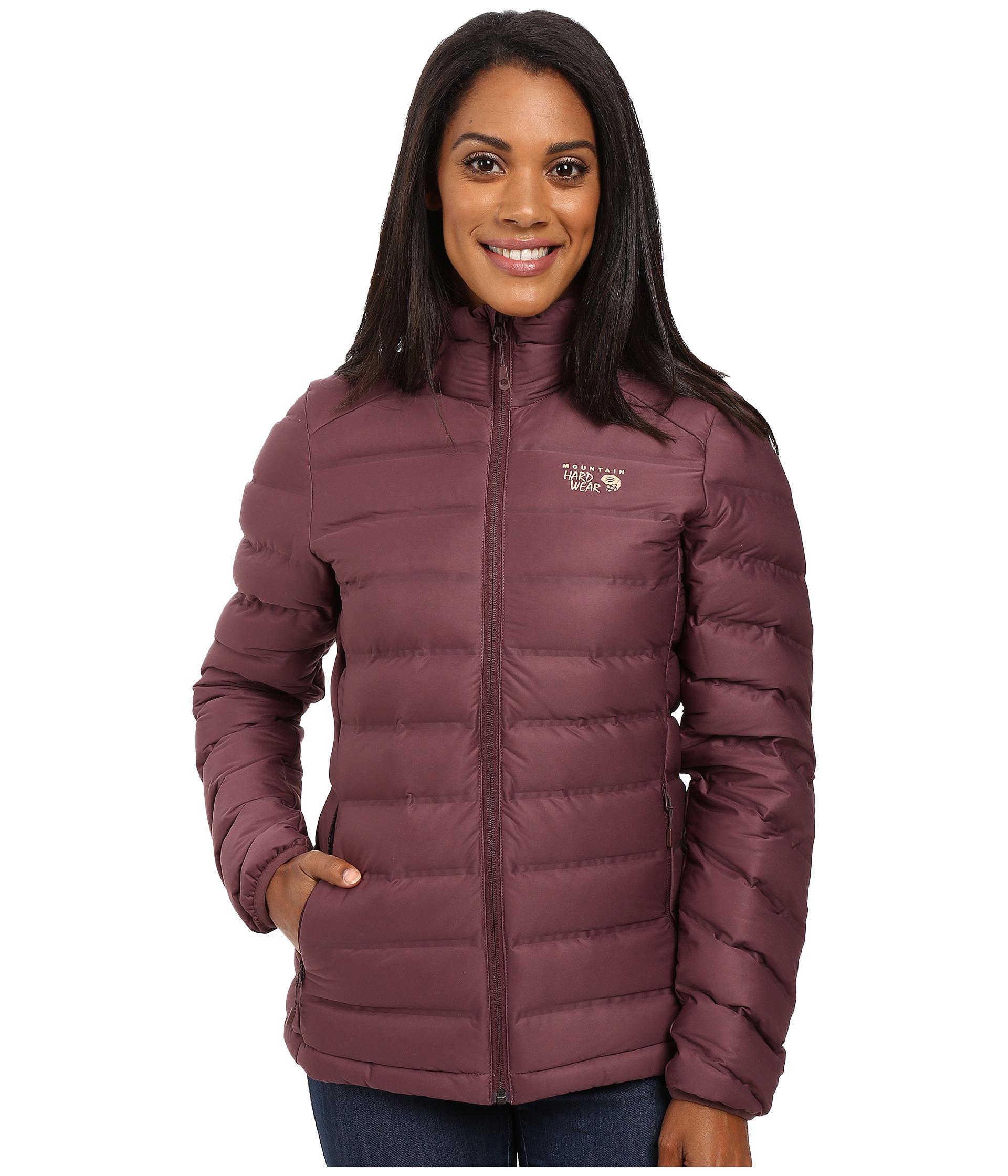 45fd04f1b Mountain Hardwear Purple Mountain Hardware Stretchdown(tm) Hooded Jacket