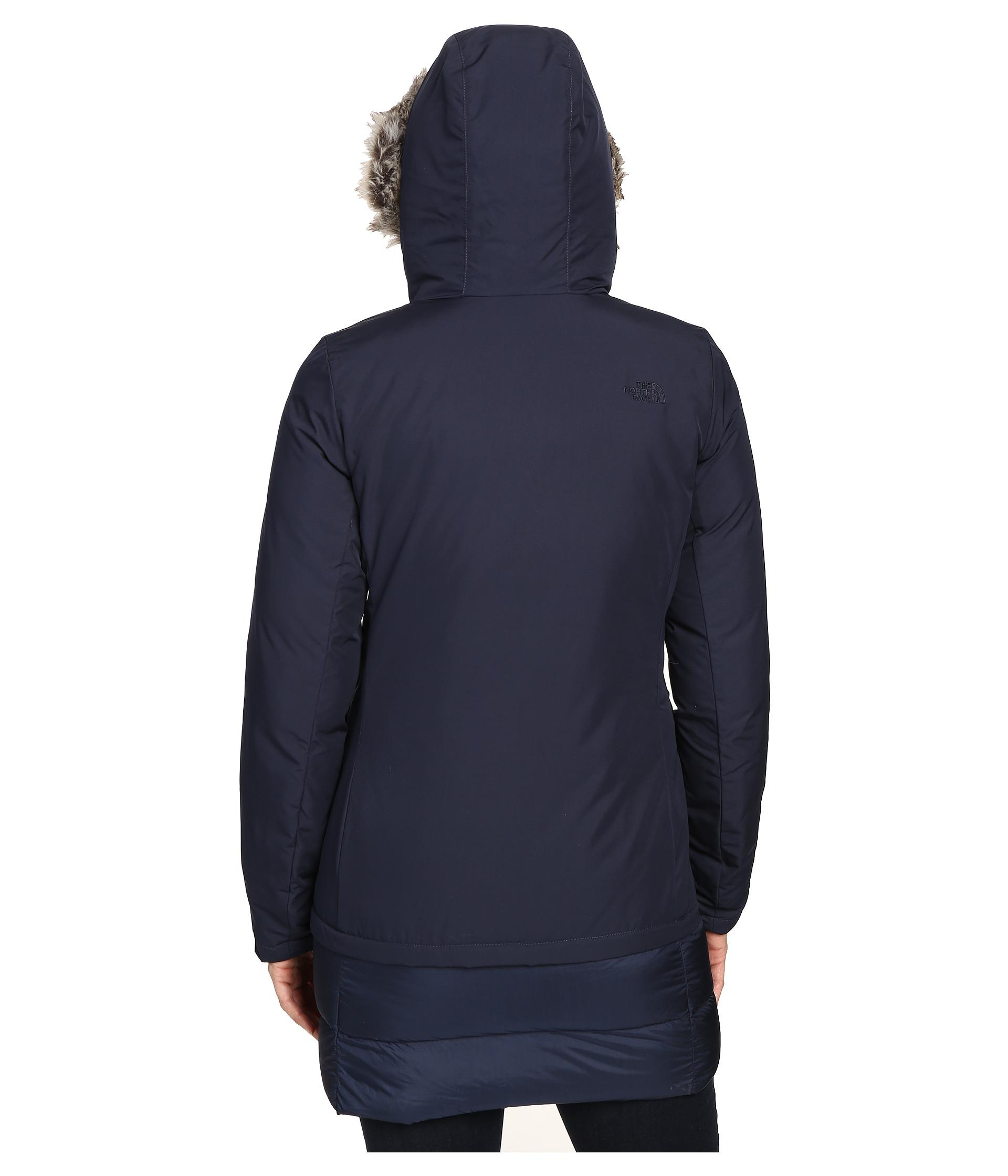 best collection fashion color brilliancy The North Face Blue Tuvu Parka