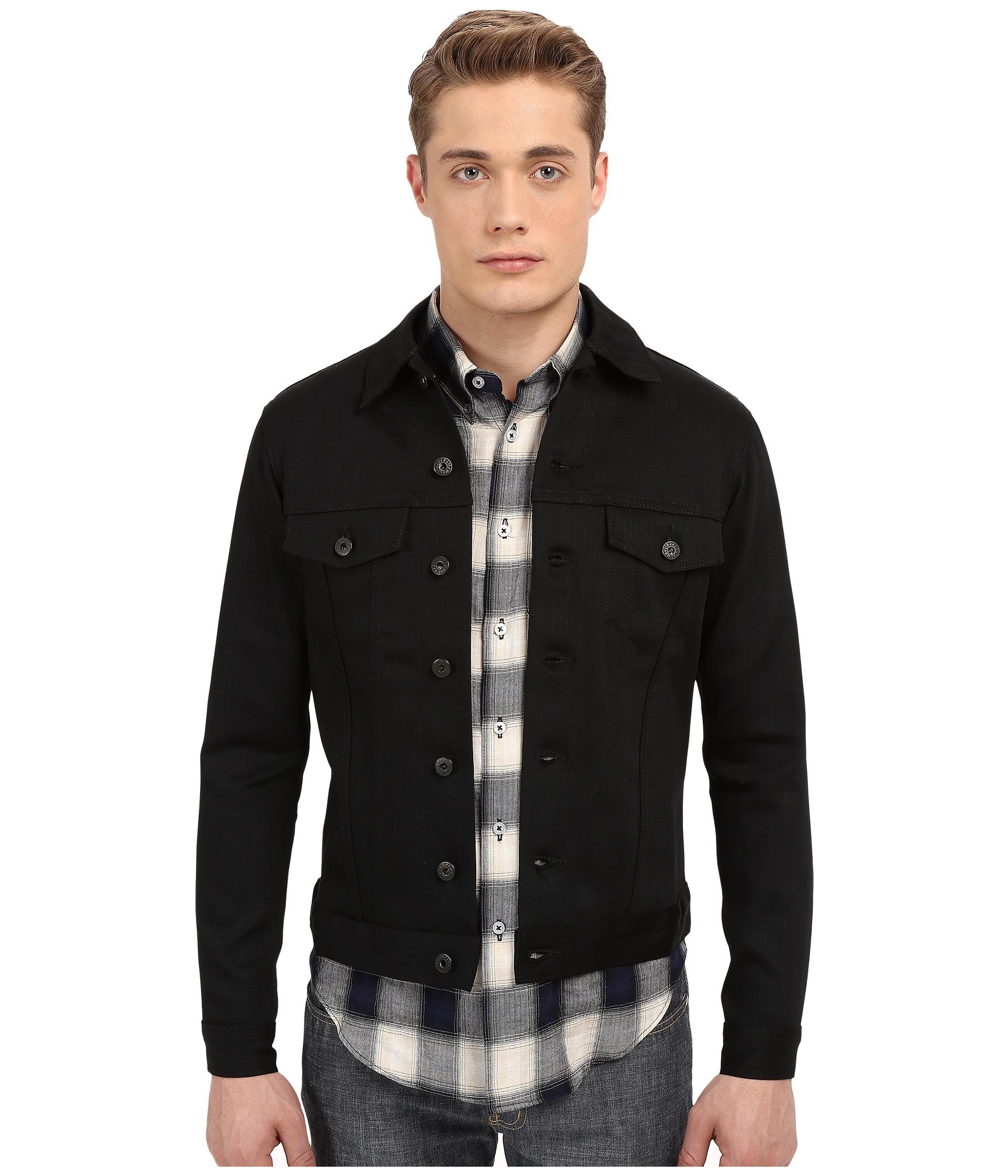 Mens Black Denim Jacket | Gommap Blog