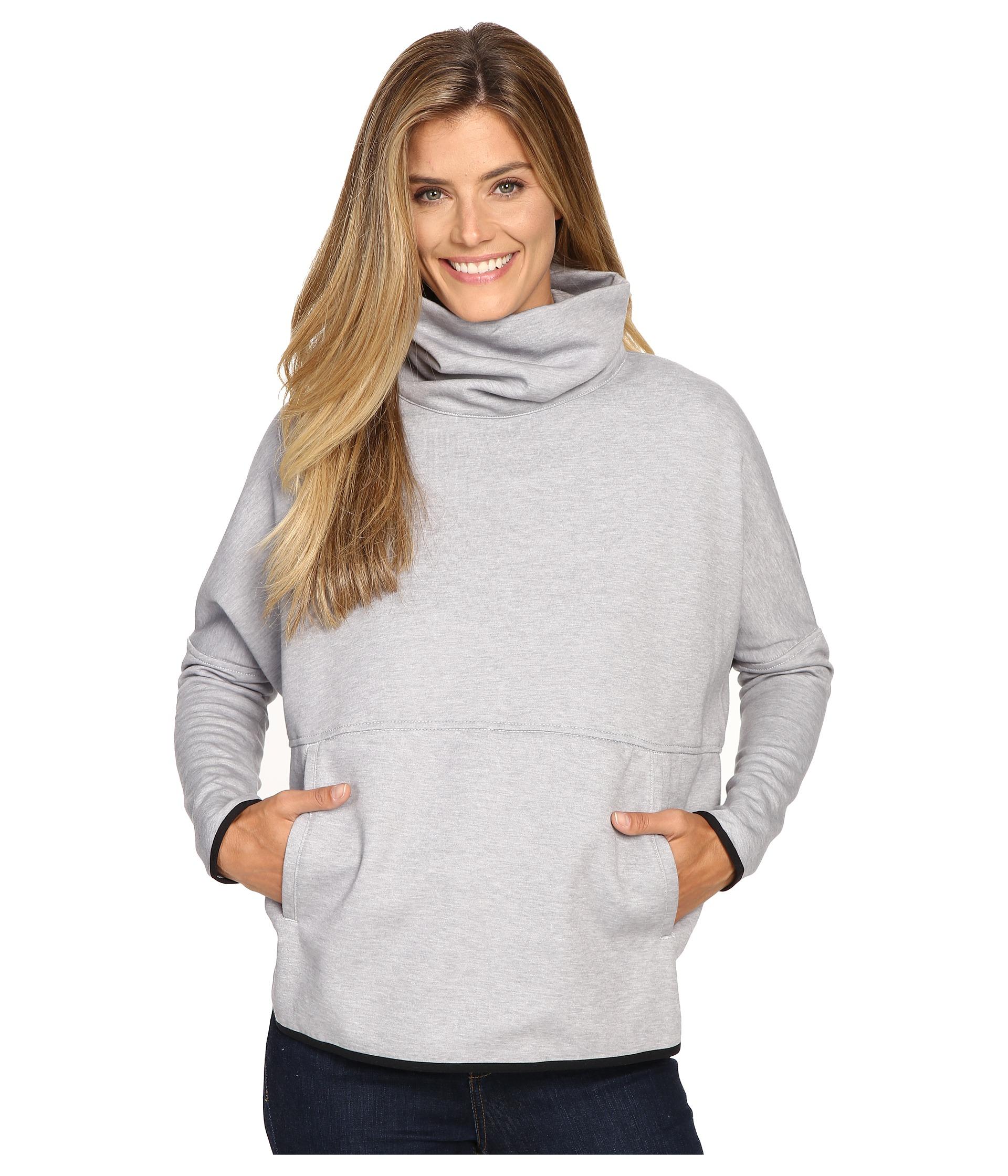 b25b84f1c Women's Gray Slacker Poncho